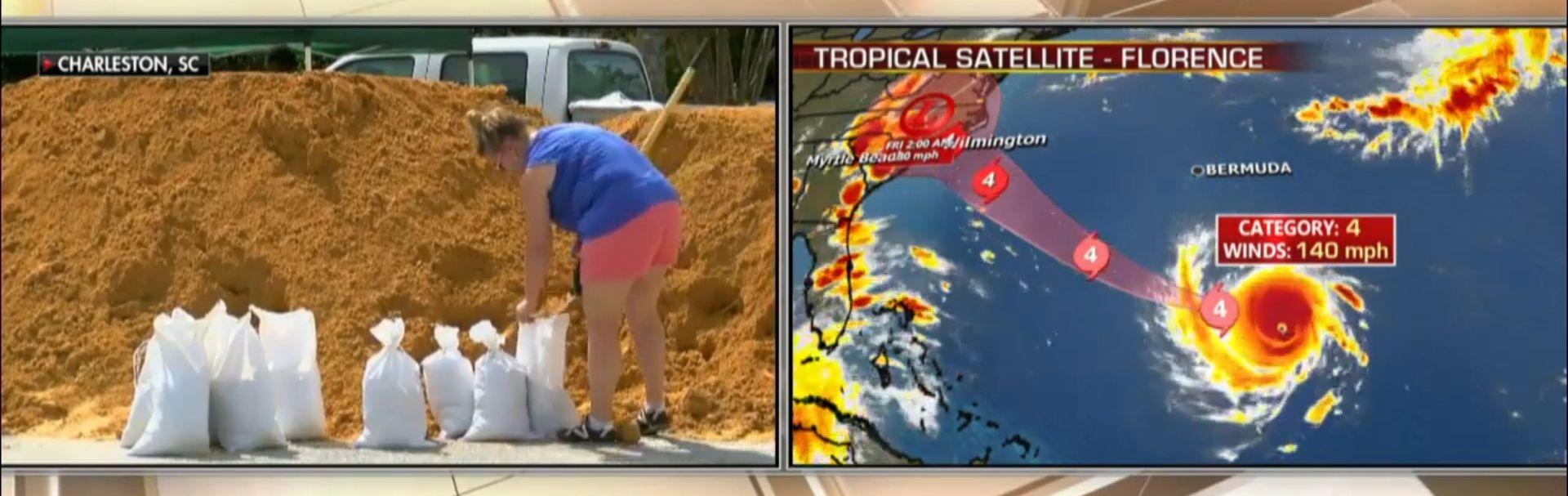 VIDEO: Masove evakuacije u SAD-u, približava se uragan Florence