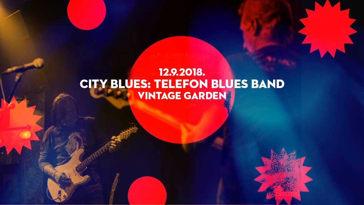 CITY BLUES Telefon Blues Band vas vodi na glazbeno putovanje