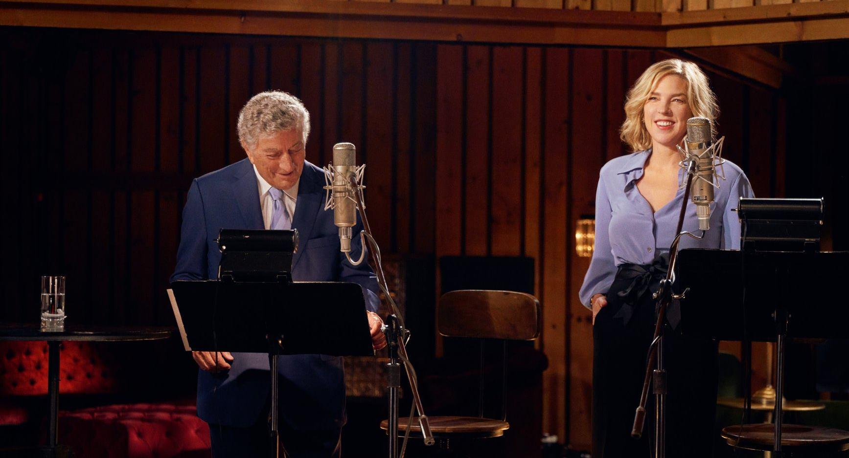 VIDEO: Kratki intervjui s poznatim glazbenicima Tonyem Bennettom i Dianom Krall