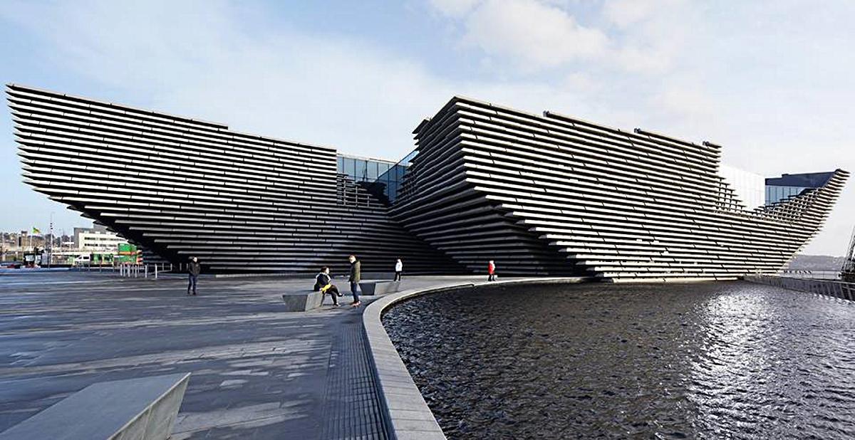 VIDEO: Muzej dizajna V&A Dundee otvoren za javnost