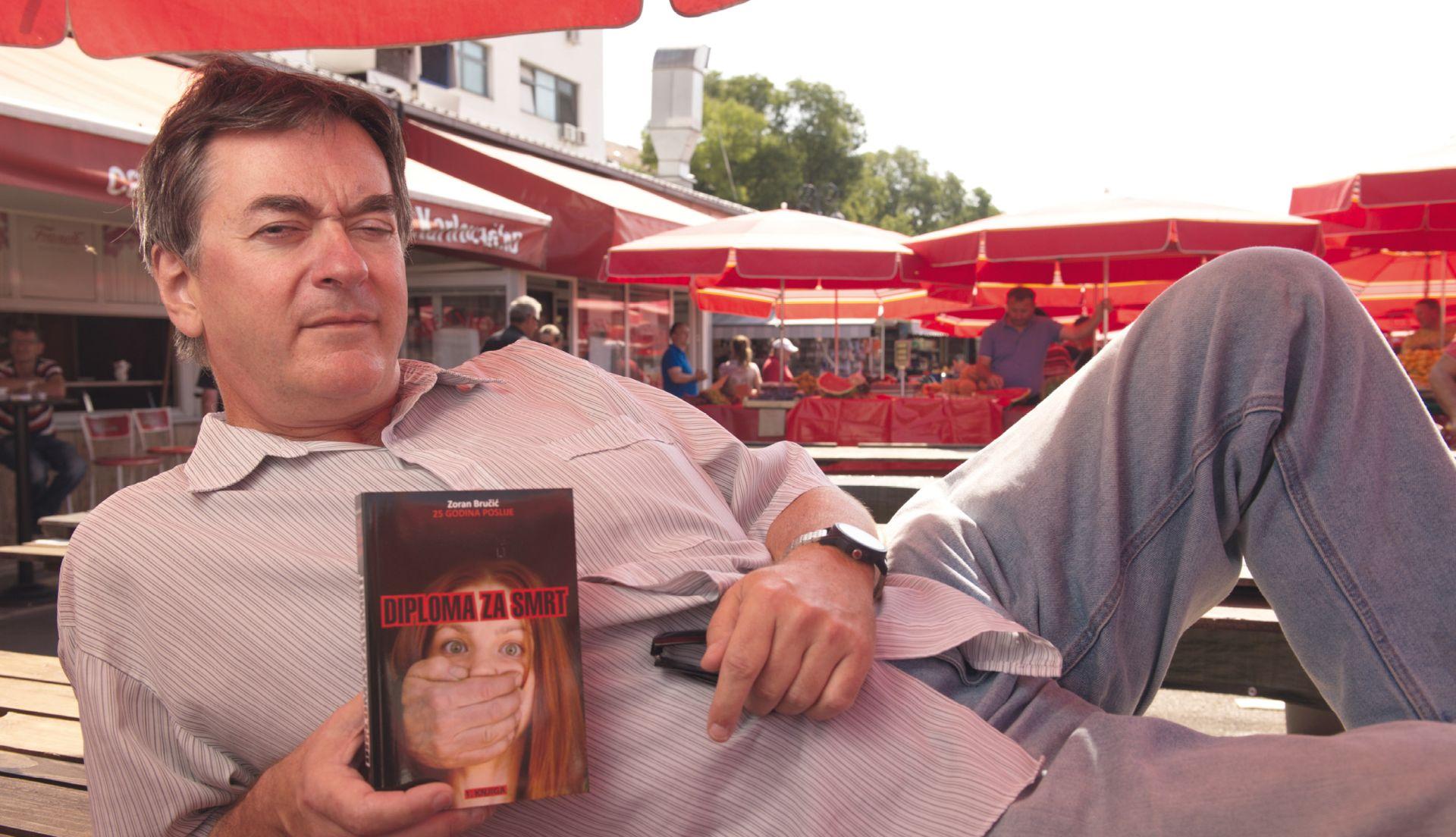 BRUČIĆ 'Zagrebačko podzemlje bilo mi je inspiracija za kriminalističku seriju'