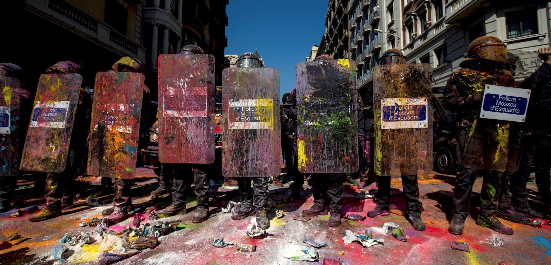 Nasilje na prosvjedu u Barceloni