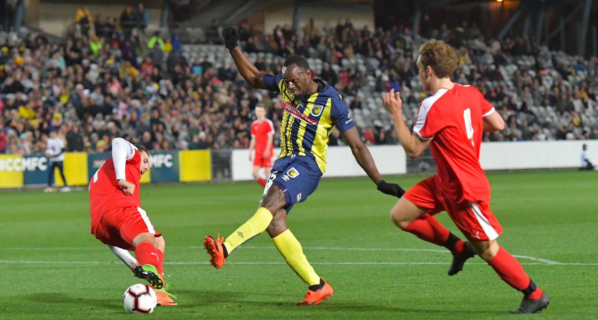 VIDEO Usain Bolt počeo nogometnu karijeru
