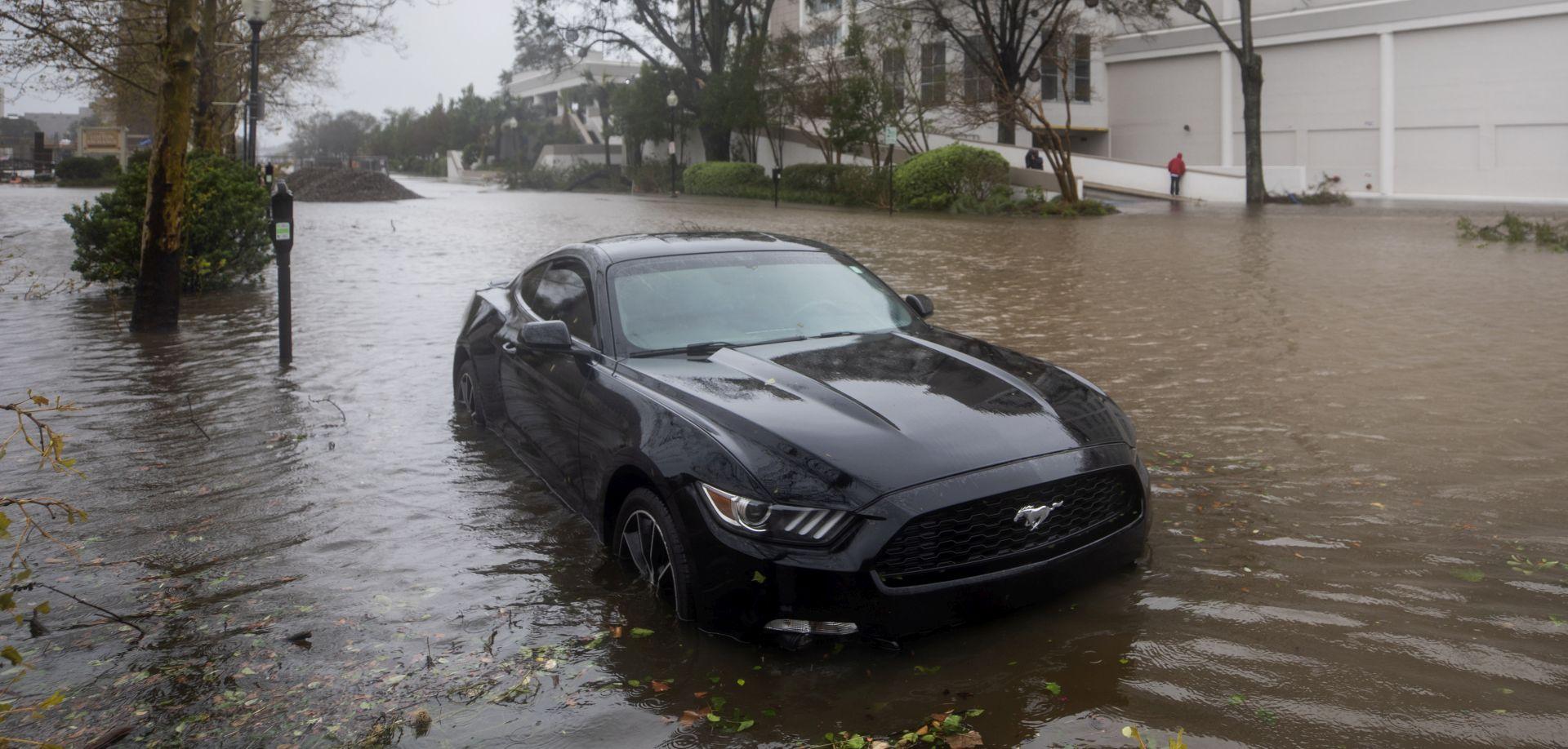 IAKO SLABI Florence i dalje uzrokuje poplave