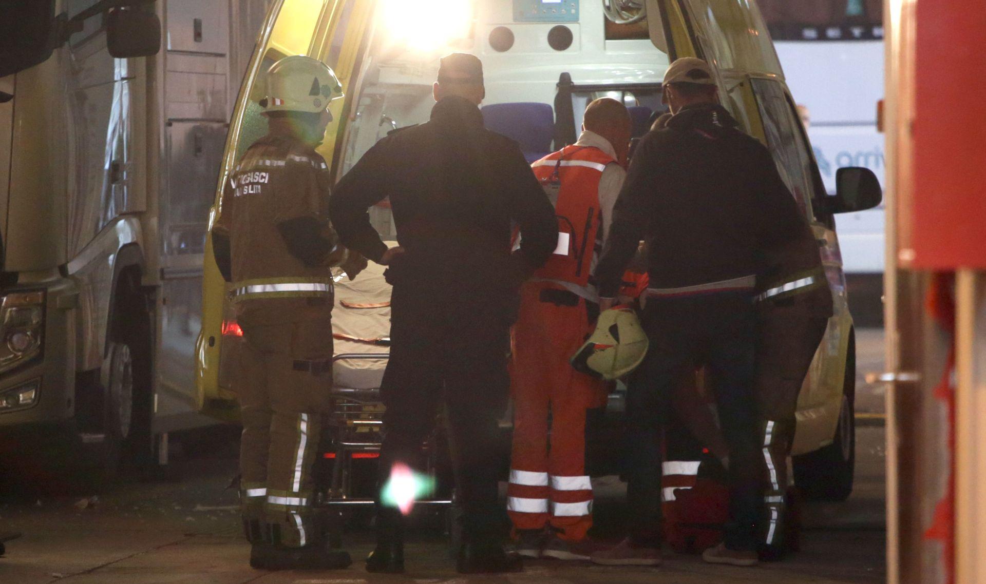 RANJEN NA POLJUDU Vatrogasac u bolnici, dvije osobe privedene zbog zloupotrebe pirotehnike