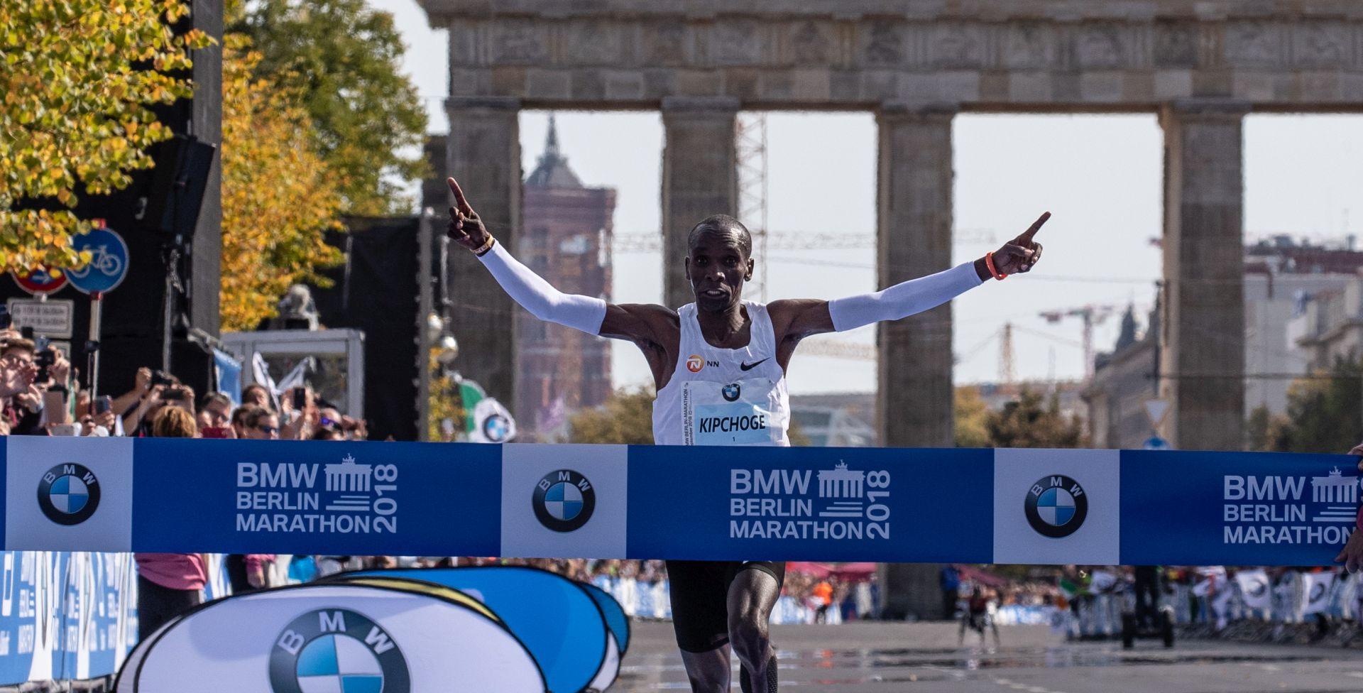 Kipchoge postavio novi svjetski rekord u maratonu