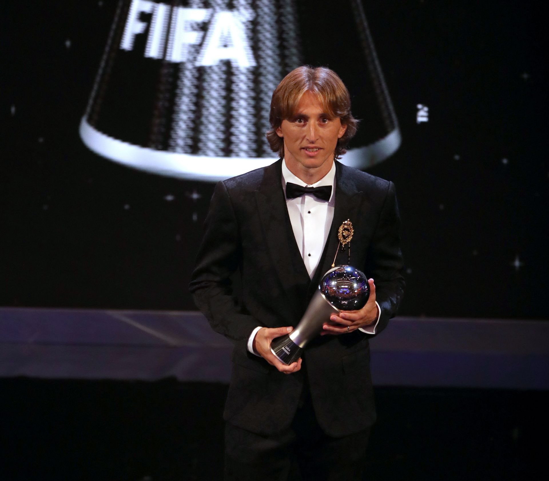 BRAVO KAPETANE Modrić najbolji nogometaš svijeta