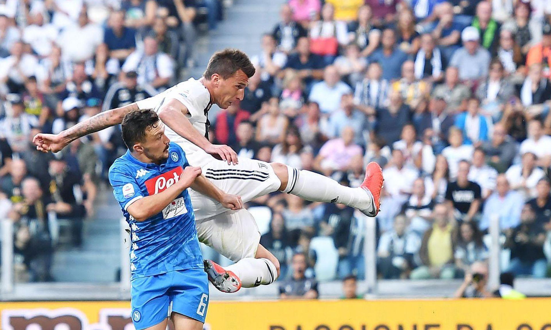 Mandžukić s dva gola srušio Napoli