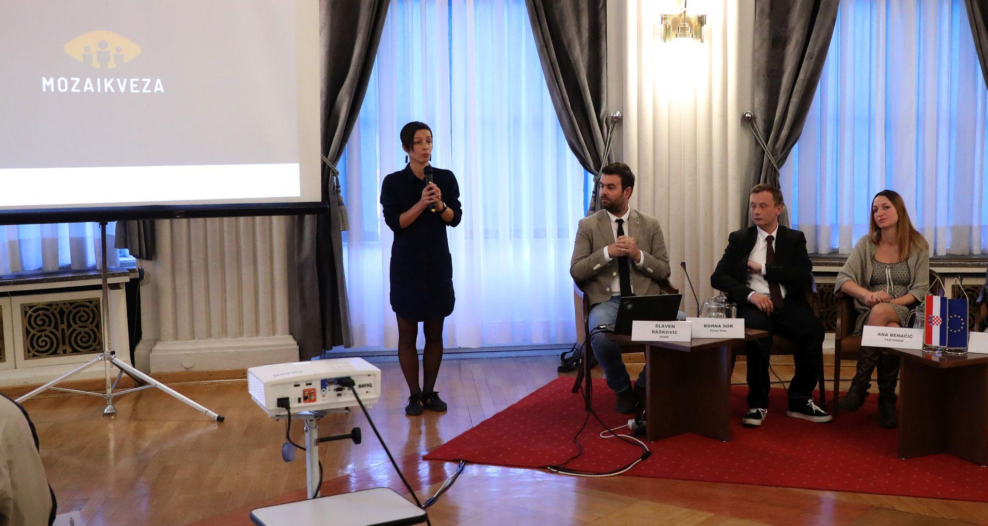 MOZAIK VEZA On-line alat za prevenciju korupcije