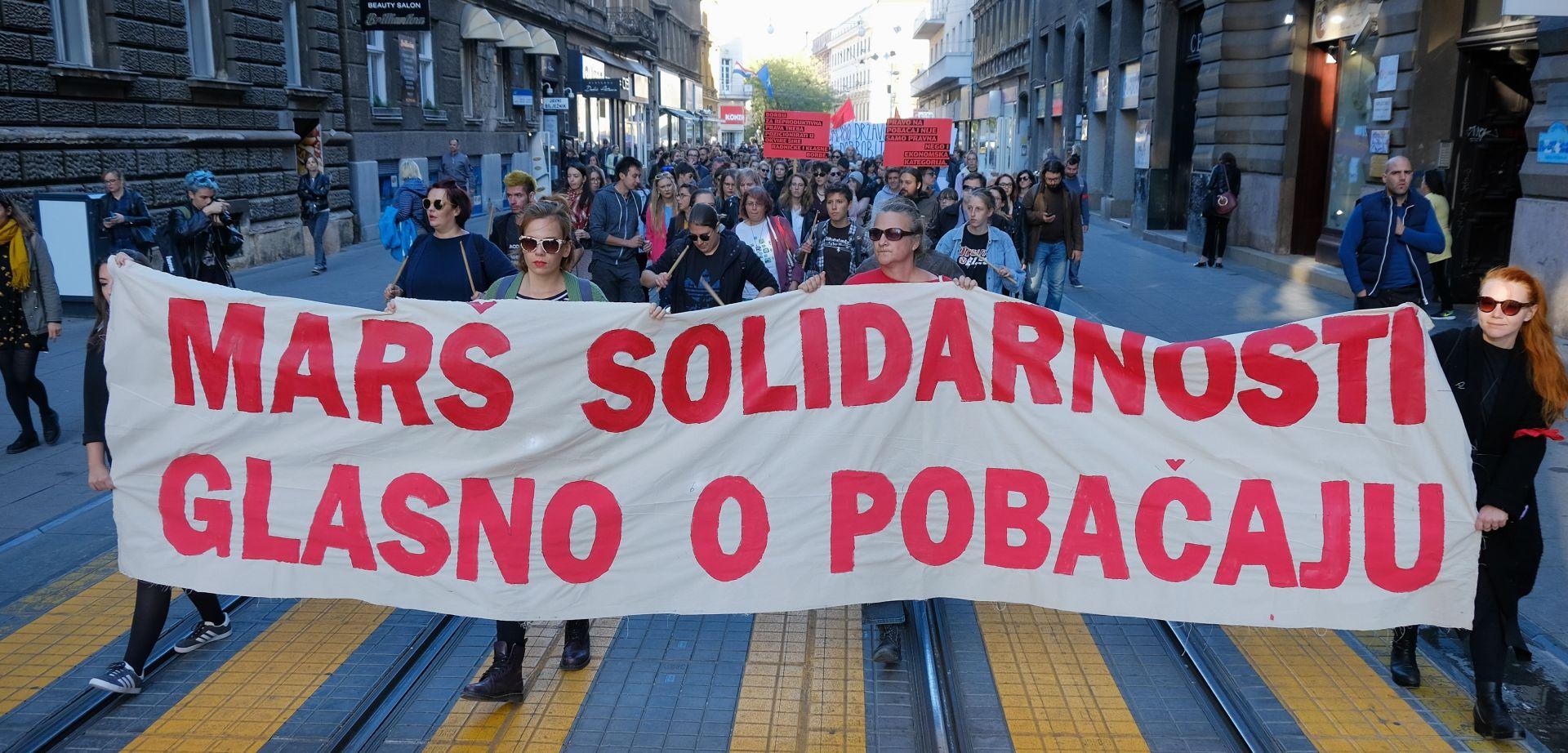 Marš solidarnosti za pravo na pobačaj