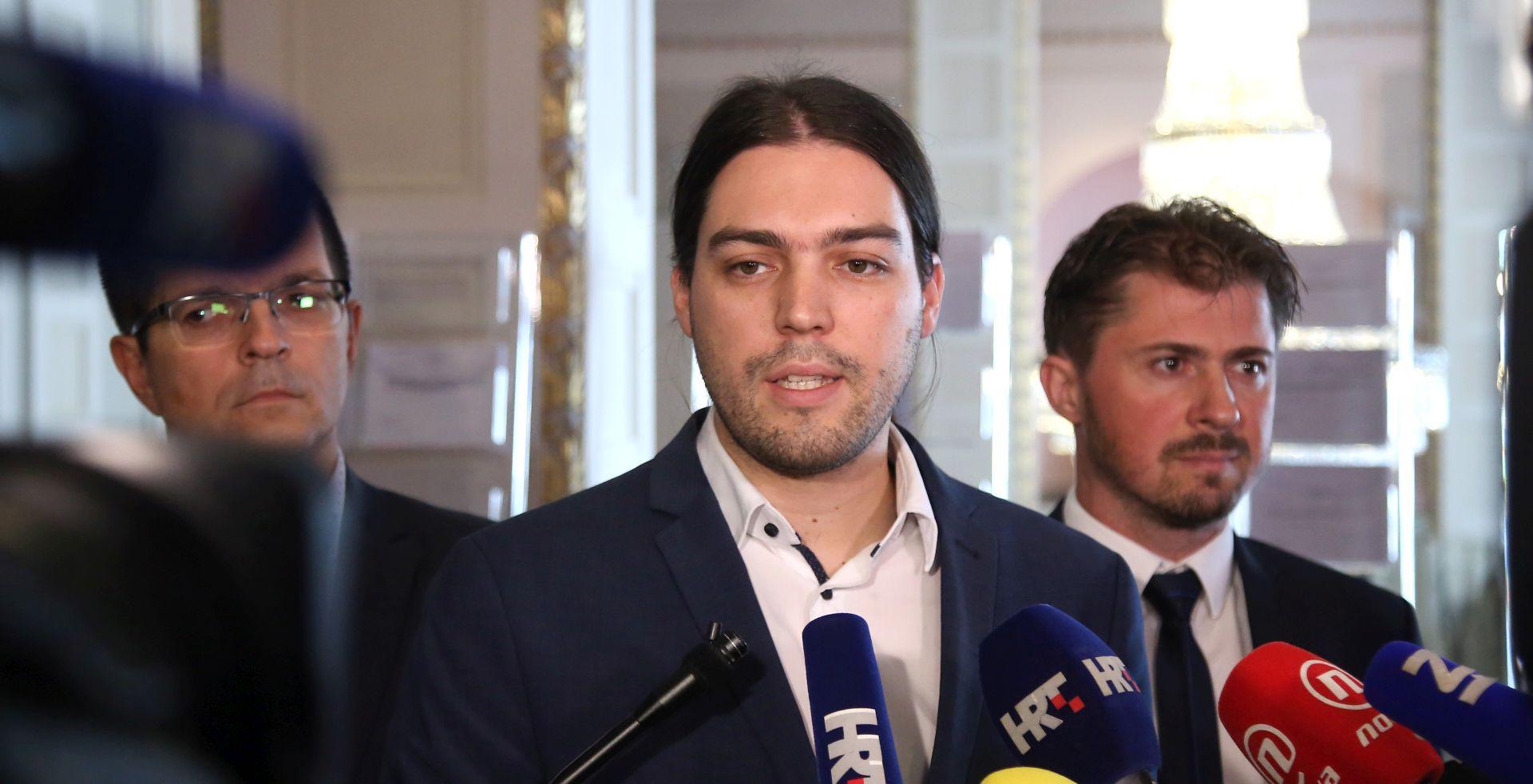 """ŽIVI ZID """"Kaznena prijava protiv Plenkovića, Marića i Petrova"""""""