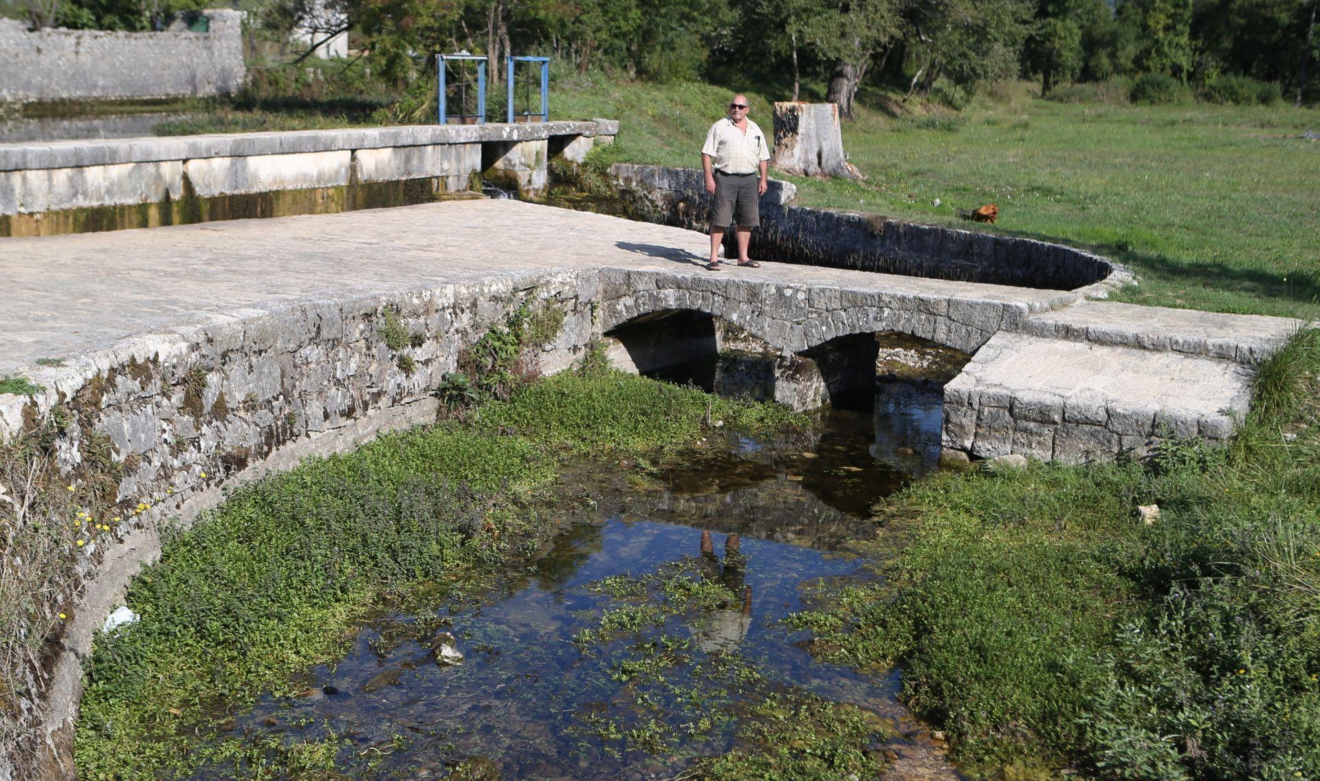 Raste vodostaj u gornjem toku Vrljike