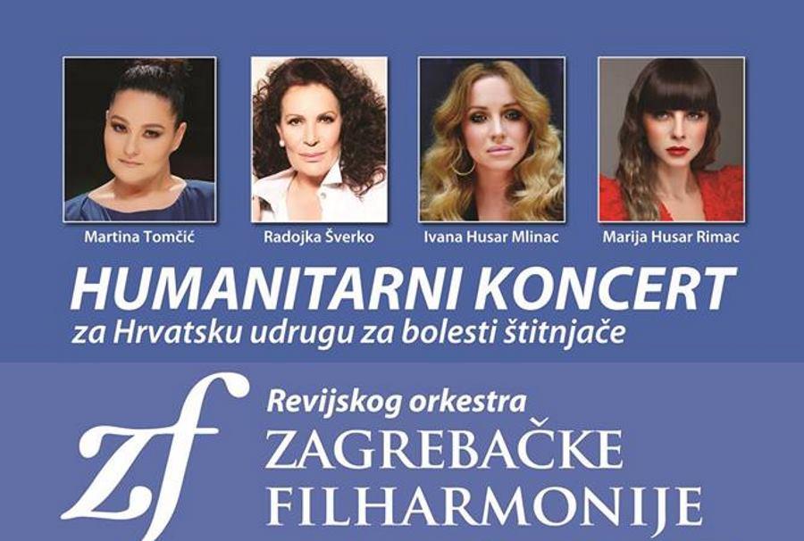 Humanitarni gala koncert Revijskog orkestra Zagrebačke filharmonije i četiri dive