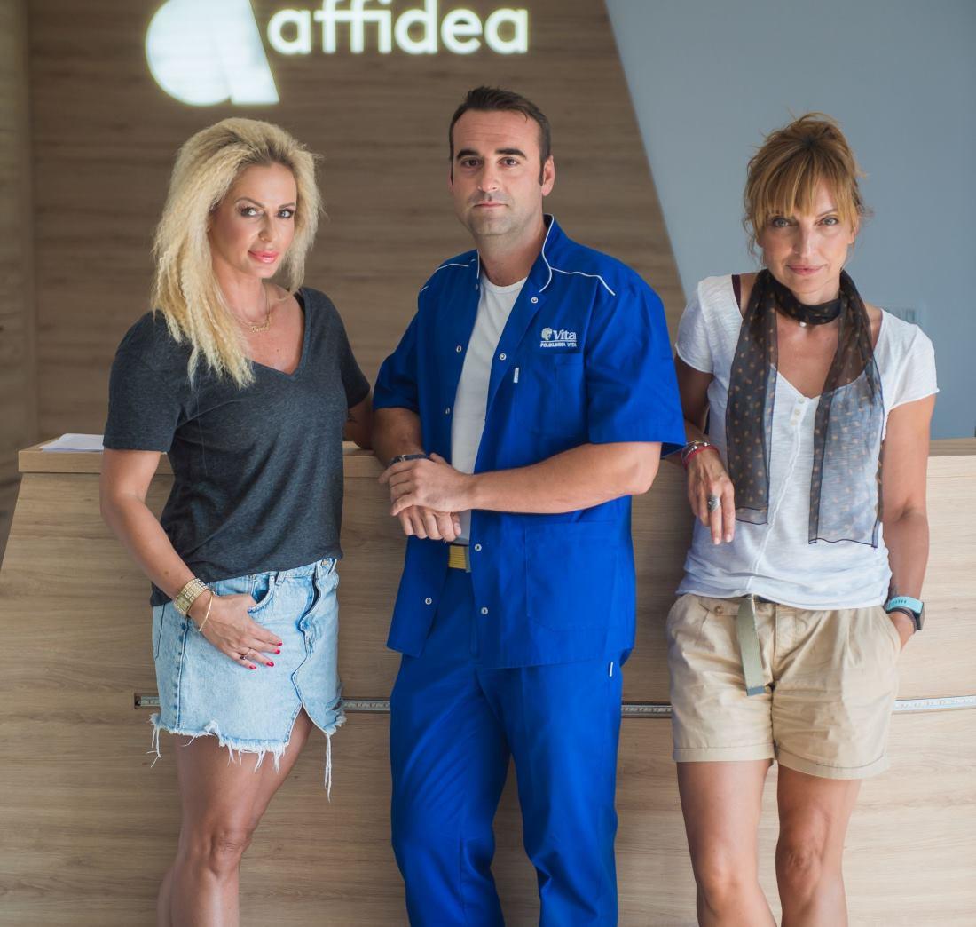 FOTO: Tim 'Aktivne Hrvatske' posjetio polikliniku Affidea Vita