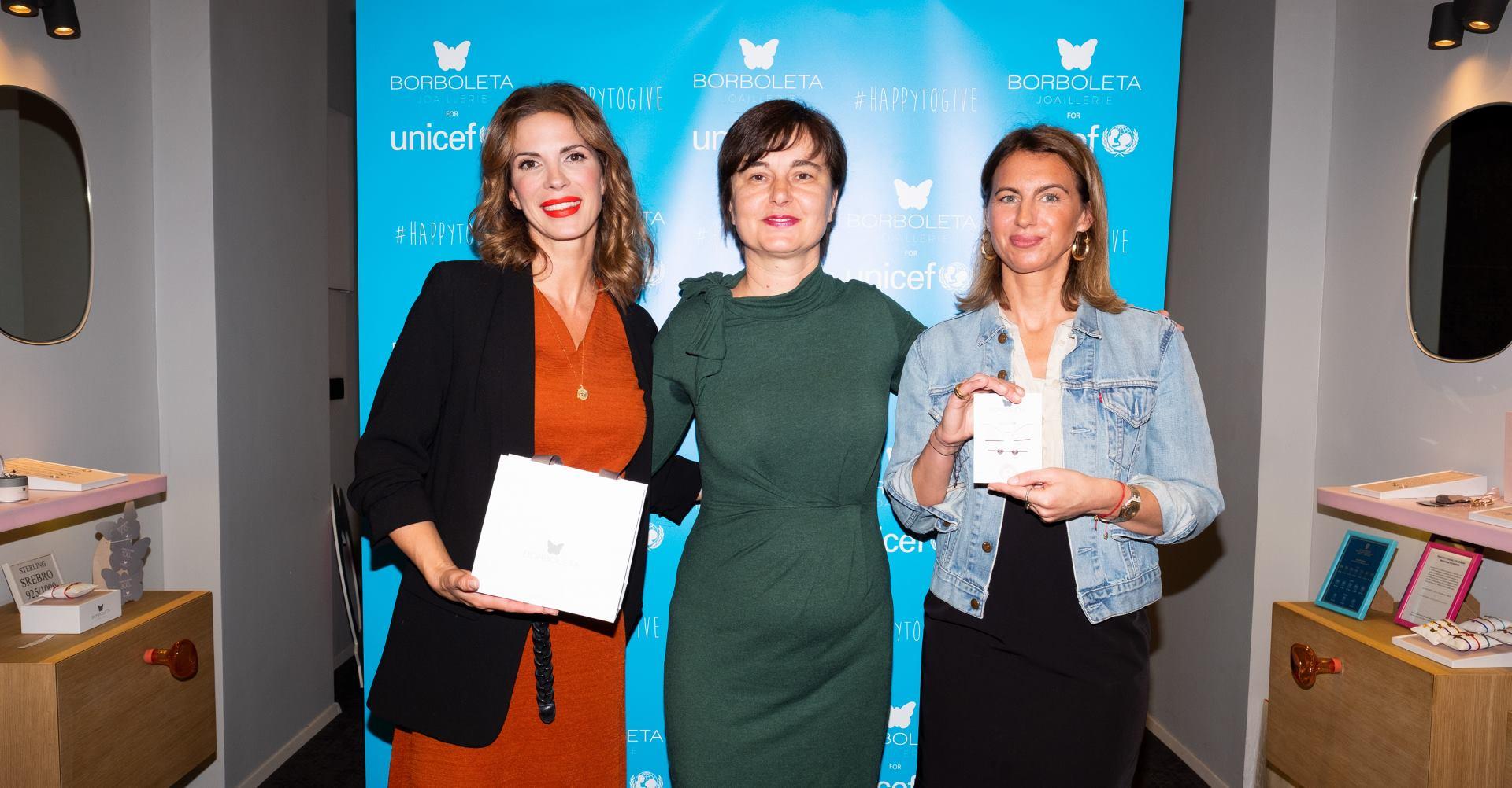 UNICEF i Borboleta zajedno u kampanji za djecu #HAPPYTOGIVE