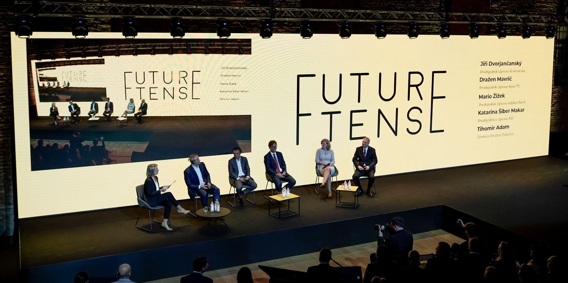 FOTO: Na Future Tense konferenciji govorili i čelni ljudi poznatih tvrtki na hrvatskom tržištu