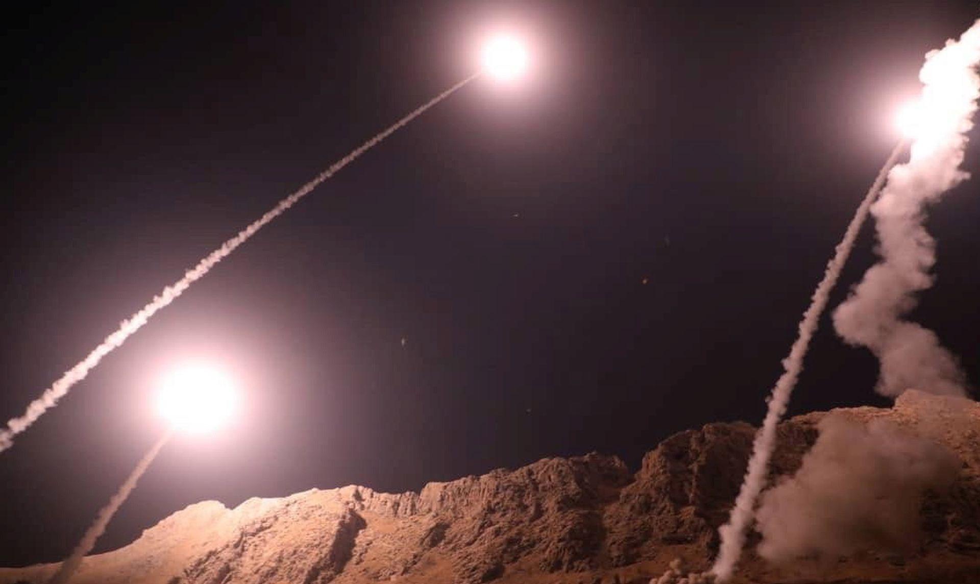 OSVETA Iran ispalio projektile na militante u Siriji
