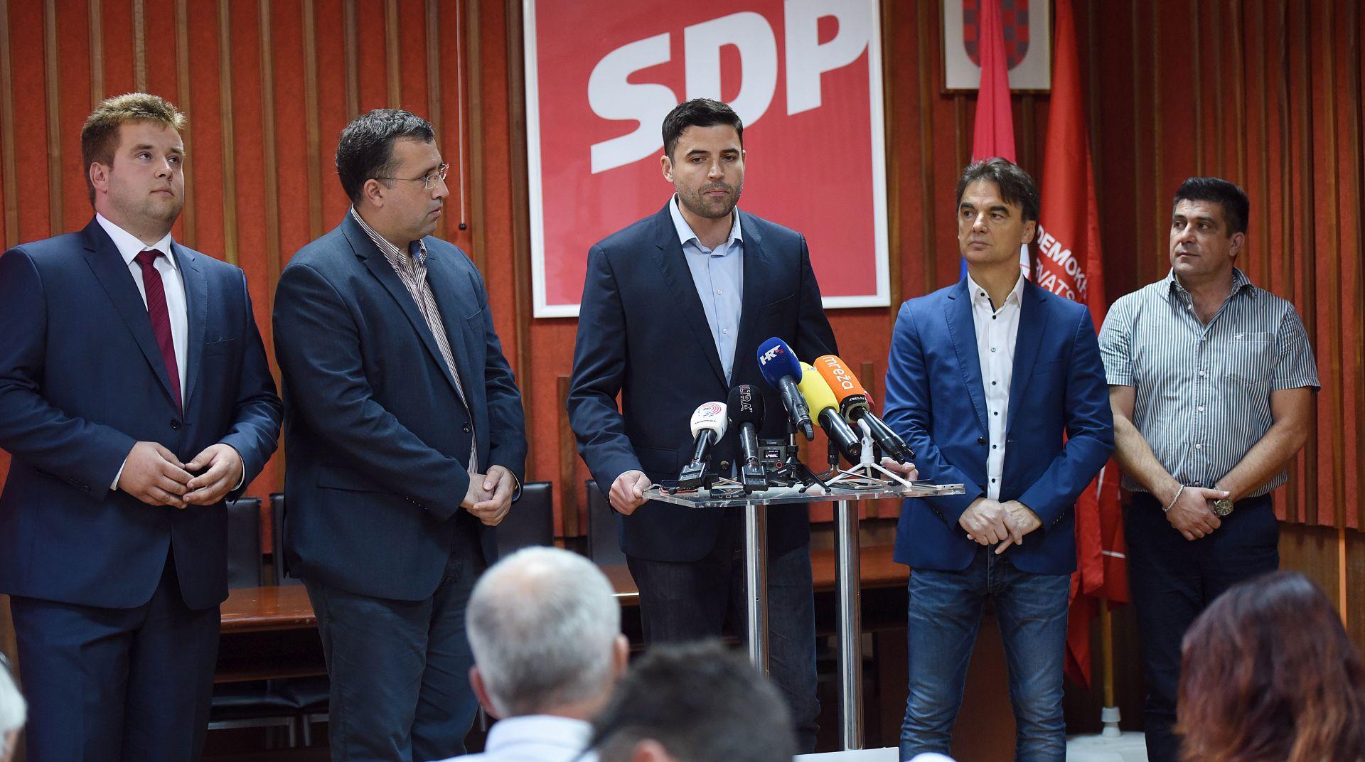 SDP će predložiti osnivanje istražnog povjerenstva za 'aferu SMS'