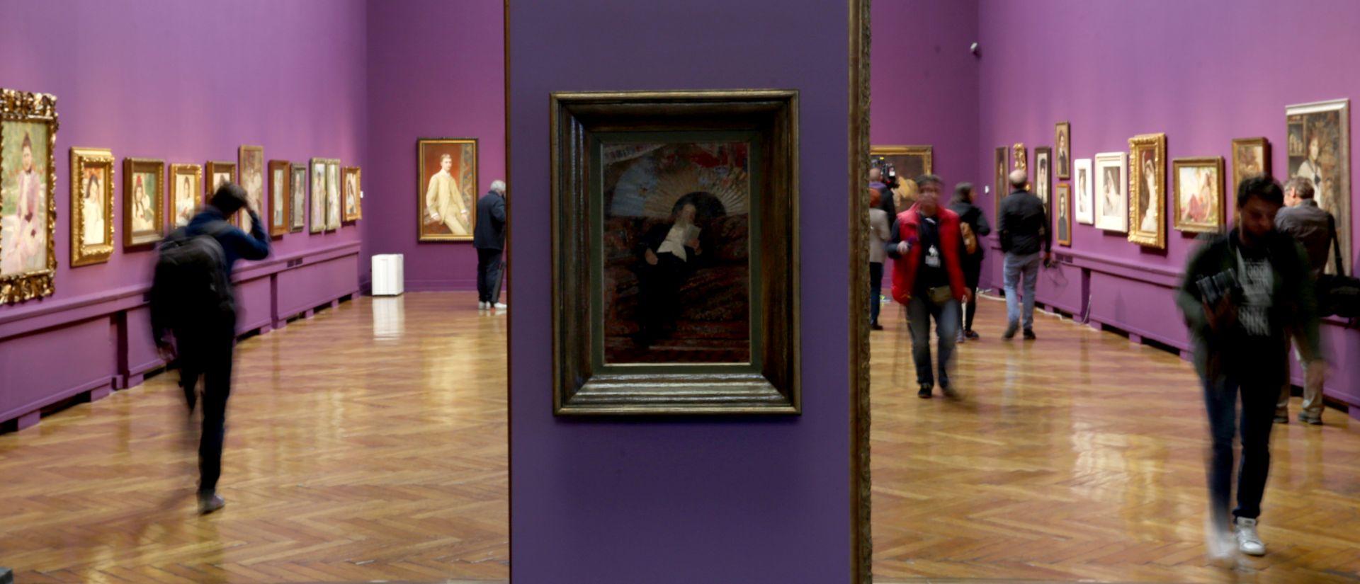 """Izložba """"Vlaho Bukovac i Alexandre Cabanel"""" u Umjetničkom paviljonu"""