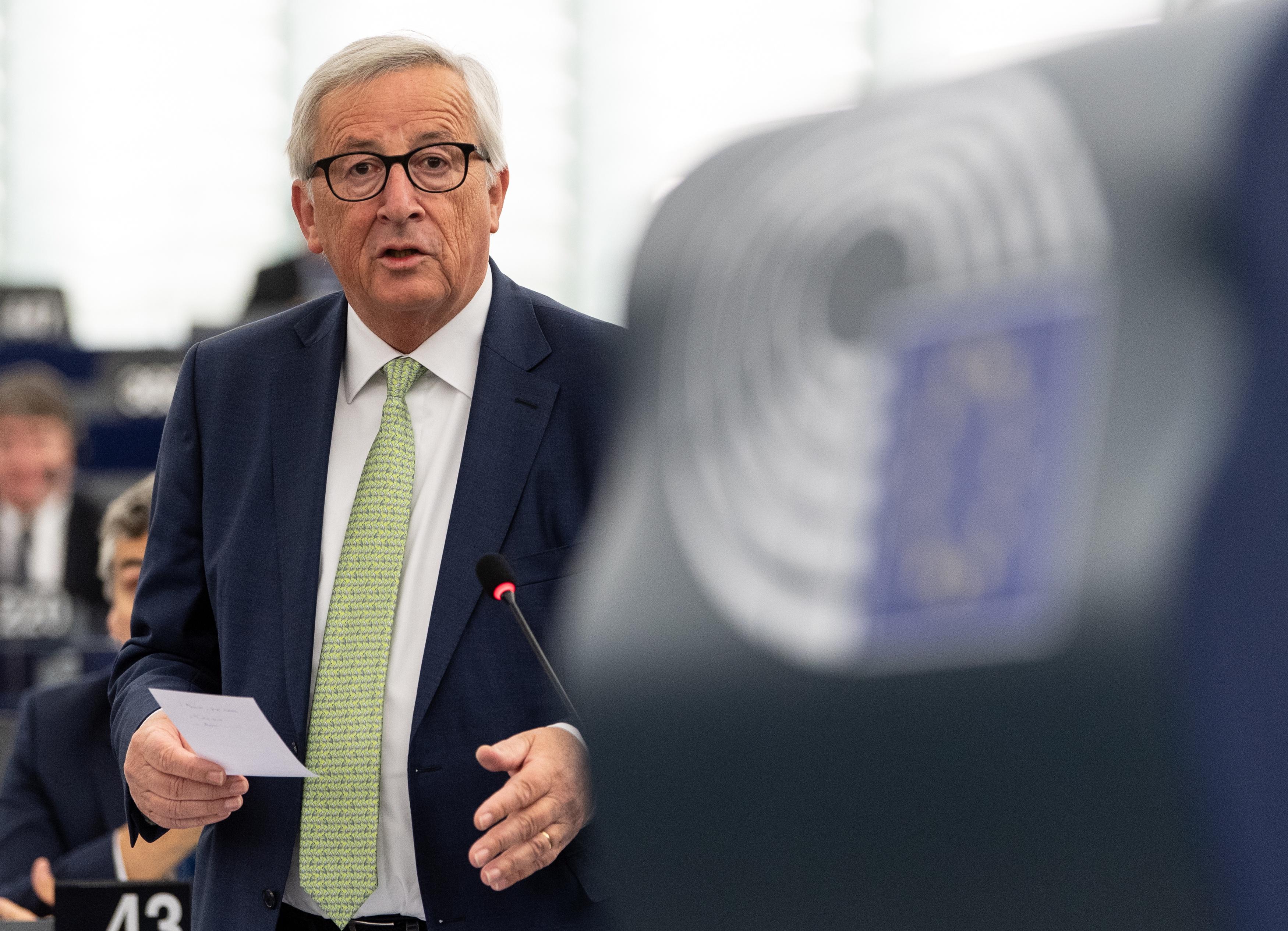 JUNCKER 'Trebamo reći ne glupim populistima i euroskepticima'