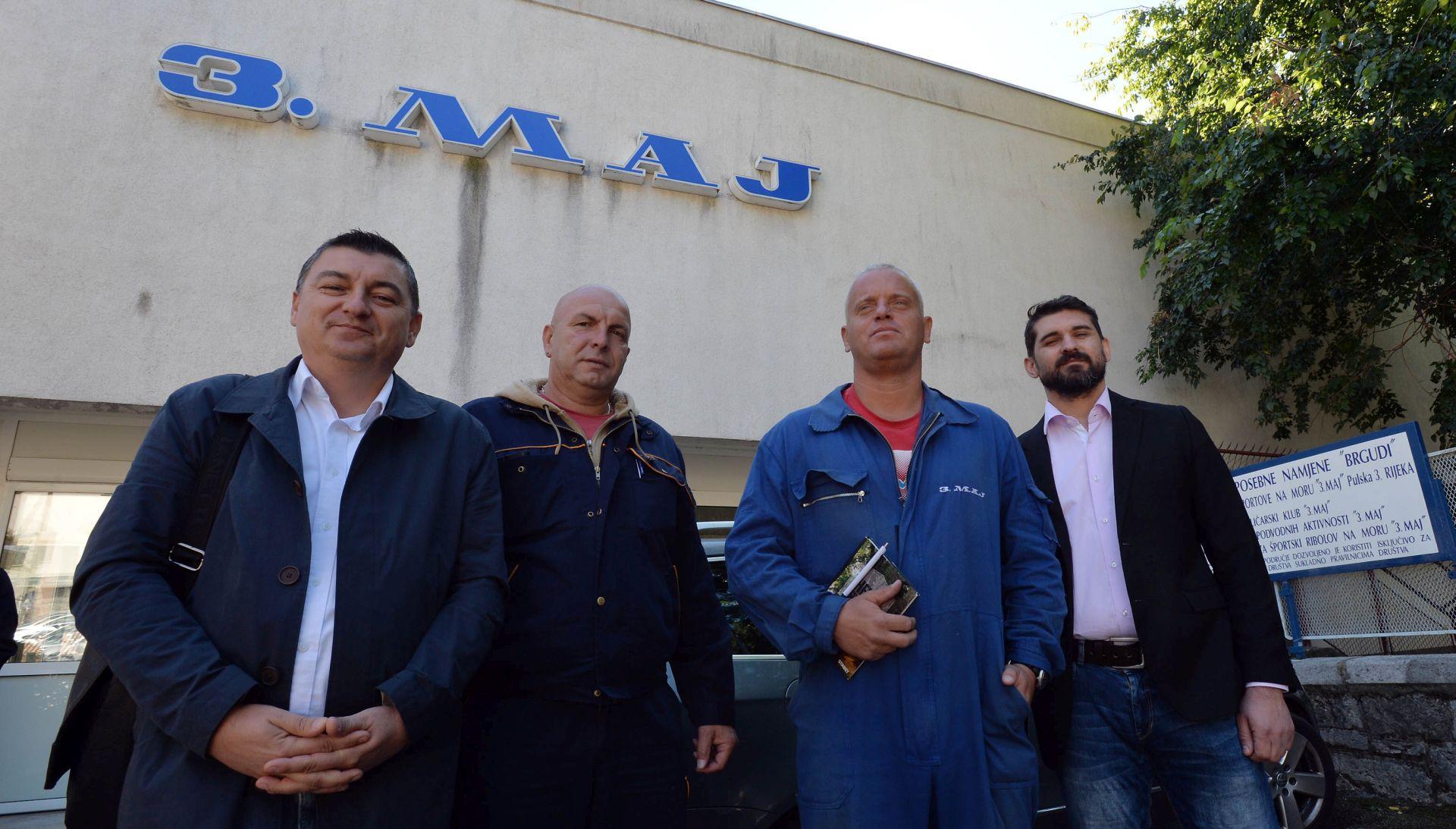 Sindikati i Stožer za obranu Uljanika u Zagrebu