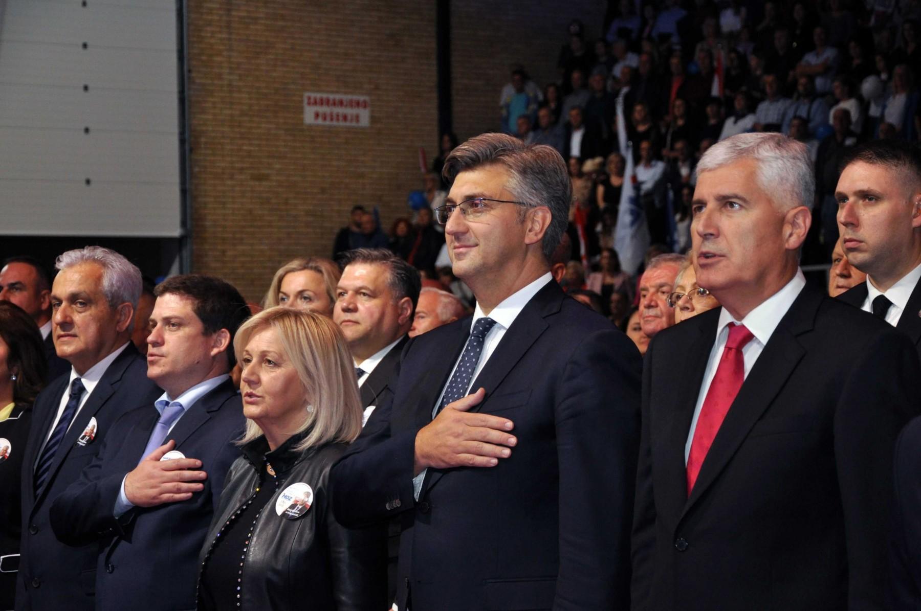 PLENKOVIĆ u Mostaru 'Važno je da Hrvate zastupaju legitimni predstavnici'
