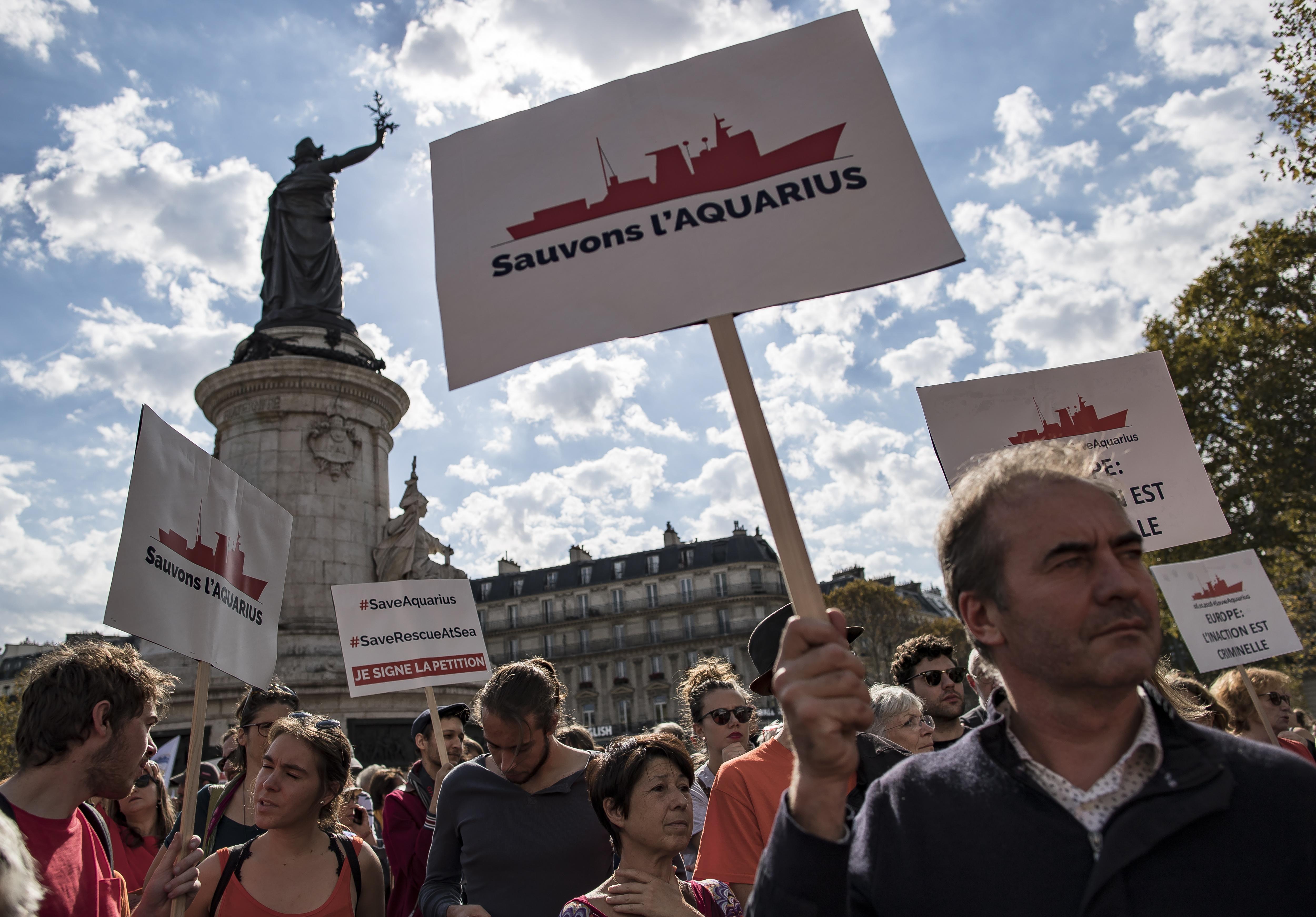 U Parizu održan skup podrške migrantima u Sredozemlju