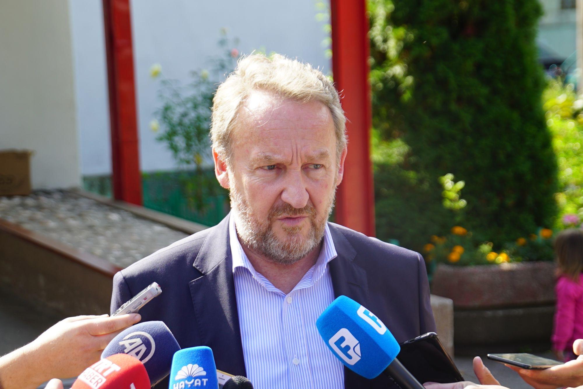 IZETBEGOVIĆ 'Plenkovićevo i Čovićevo lobiranje u EU neće naići na potporu'