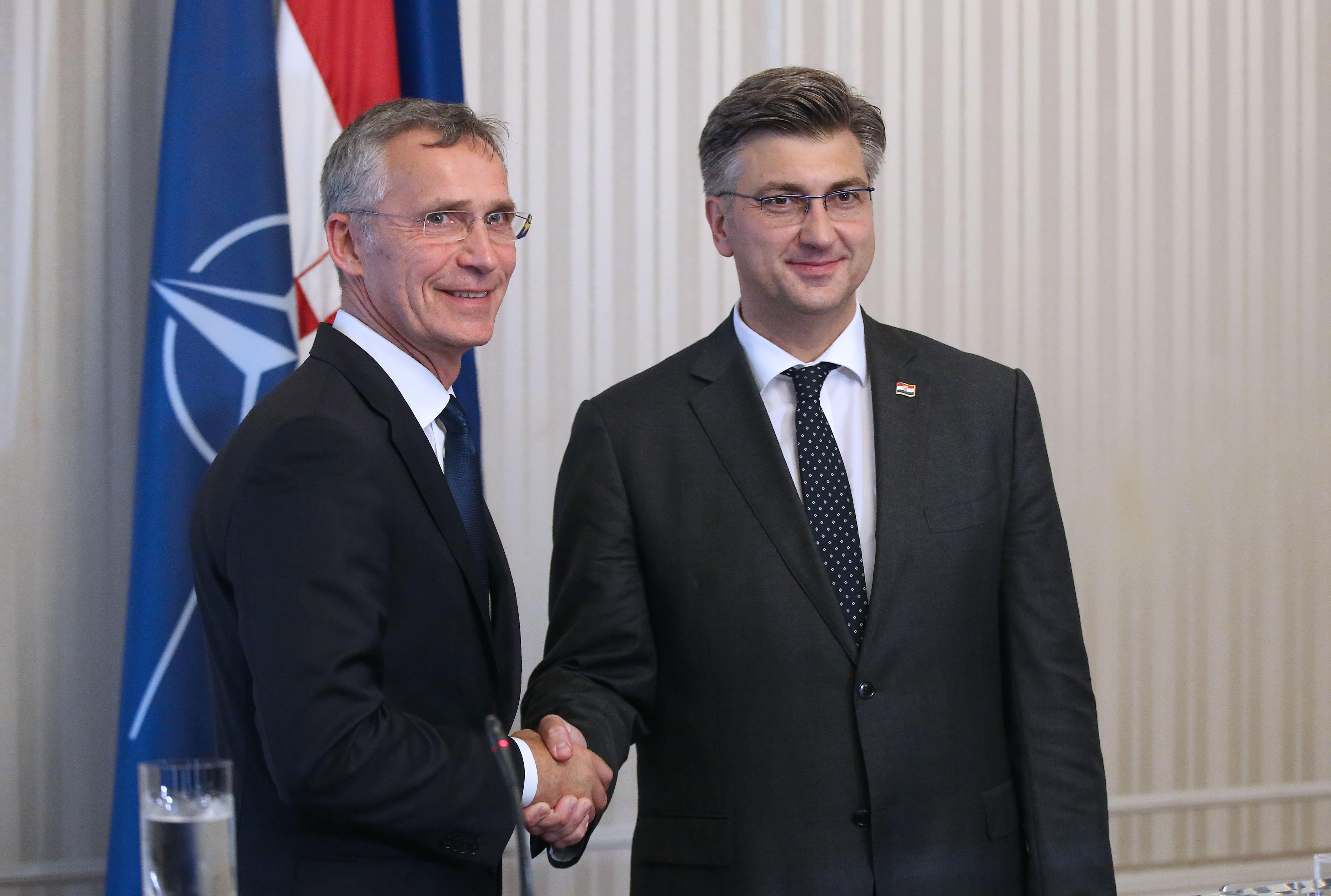 STOLTENBERG 'Hrvatska je visoko cijenjena saveznica NATO-a'