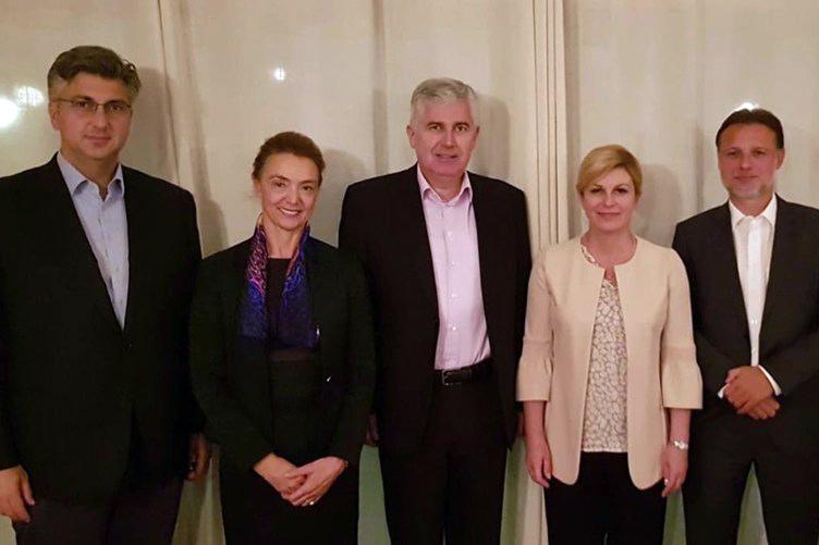 Državni vrh dao potporu zahtjevima Hrvata za jednakopravnošću u BiH