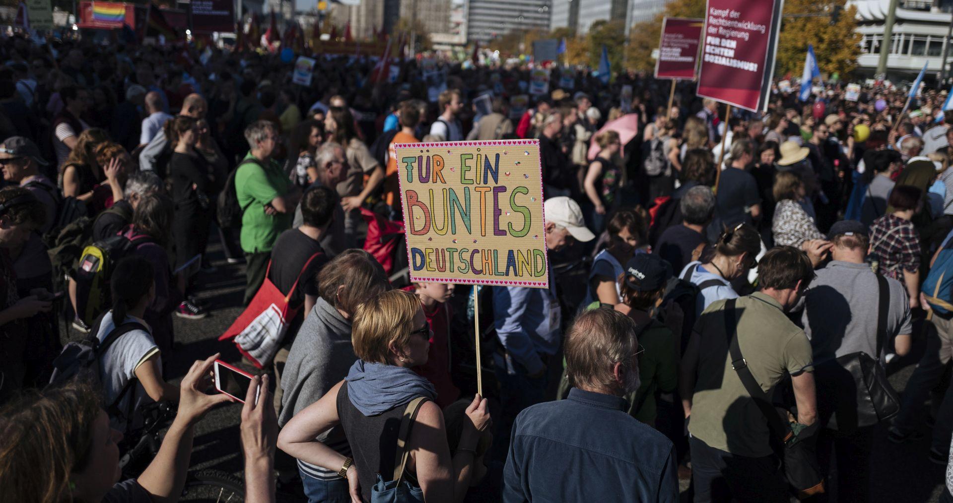 Masovni prosvjed protiv ekstremne desnice u Njemačkoj