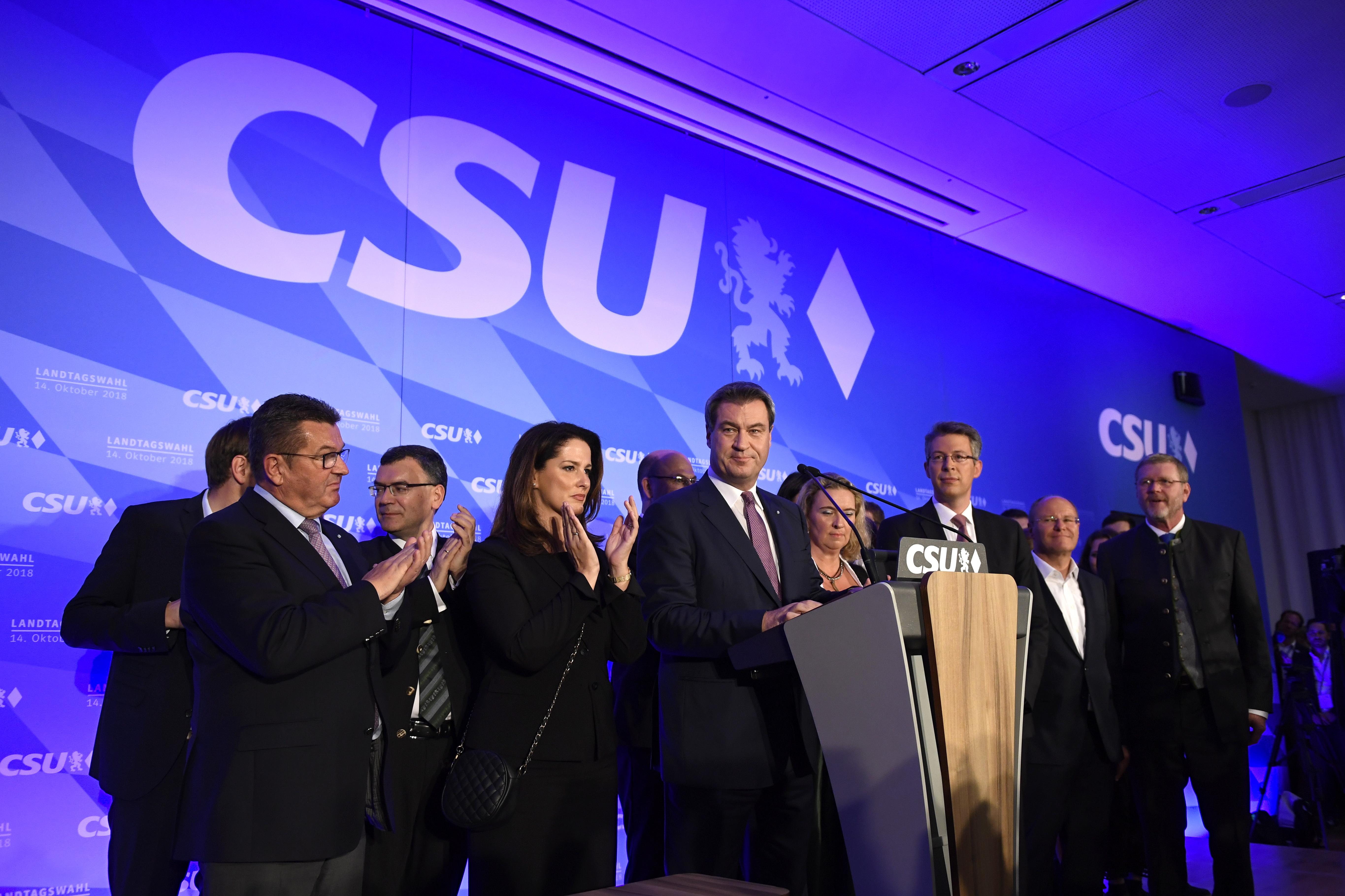 Povijesni poraz stranaka vlade Angele Merkel u Bavarskoj