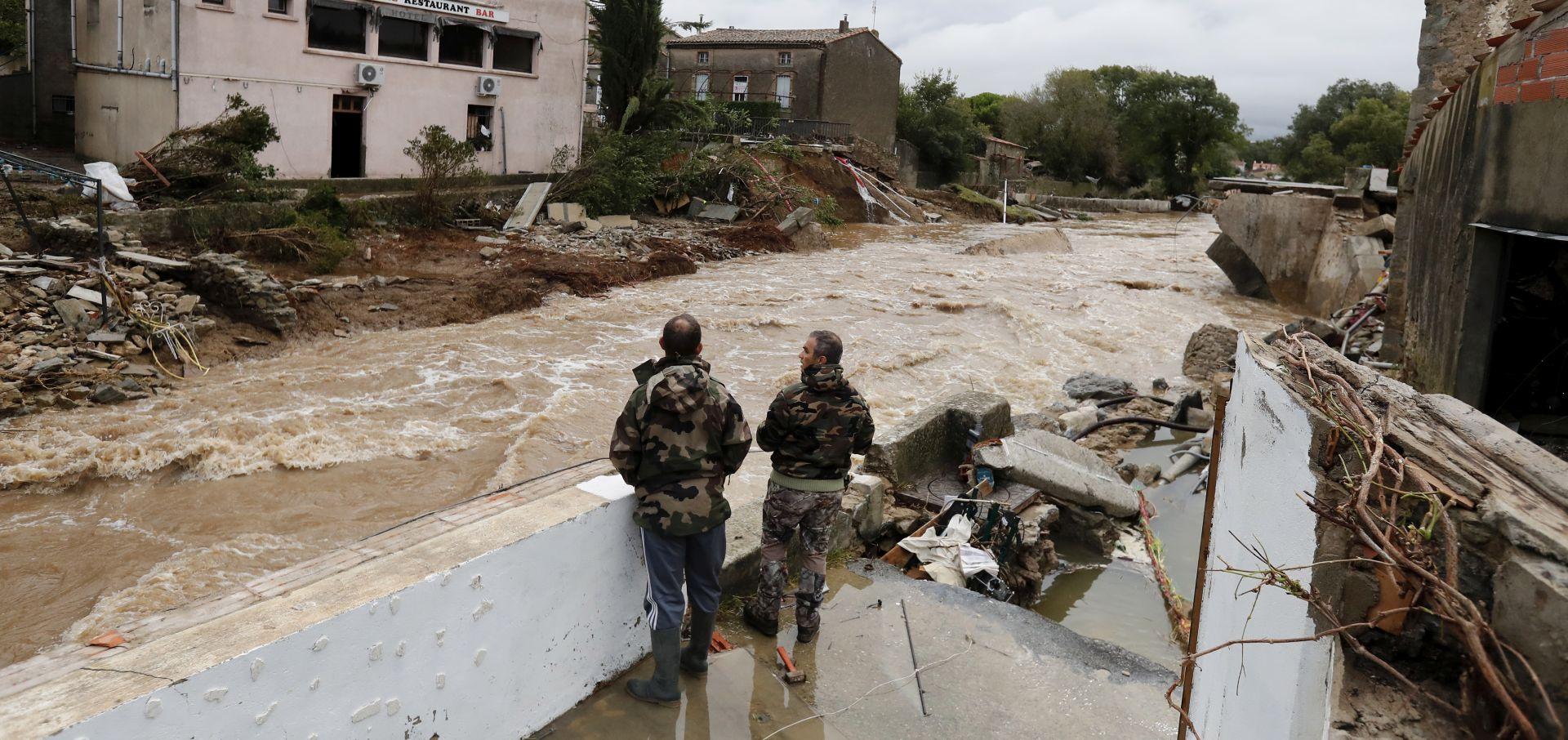 FRANCUSKA Najmanje 13 mrtvih u poplavama