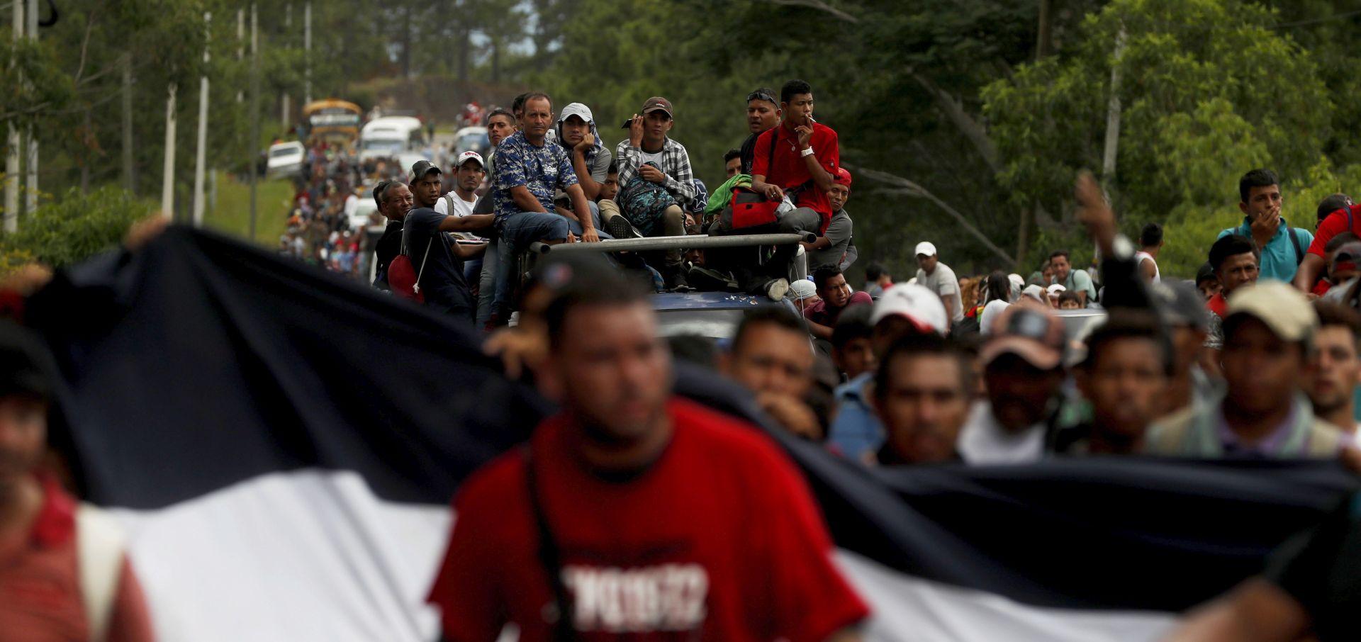 Migrantska karavana prema SAD-u se smanjila