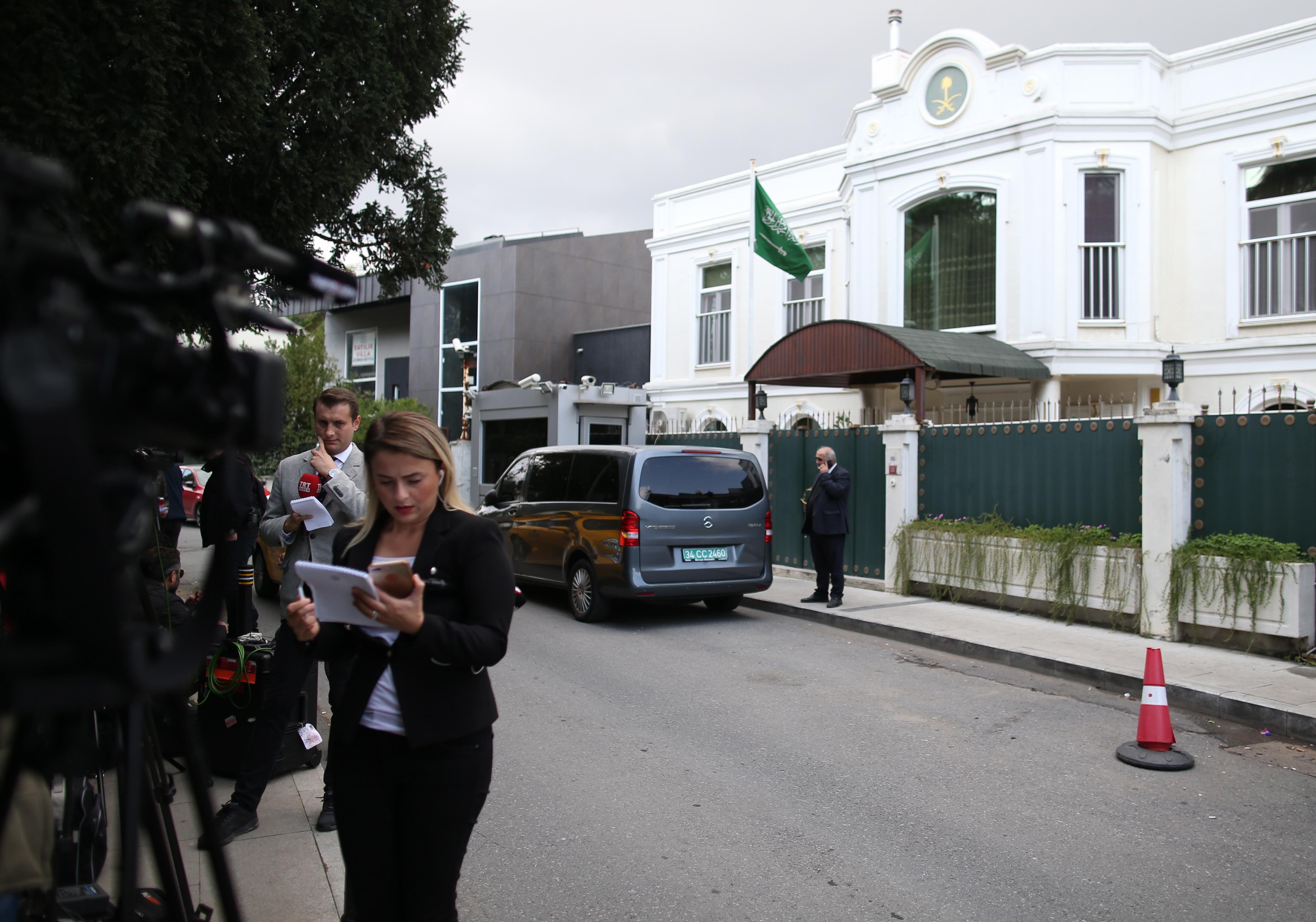 Saudijski generalni konzul napustio Tursku