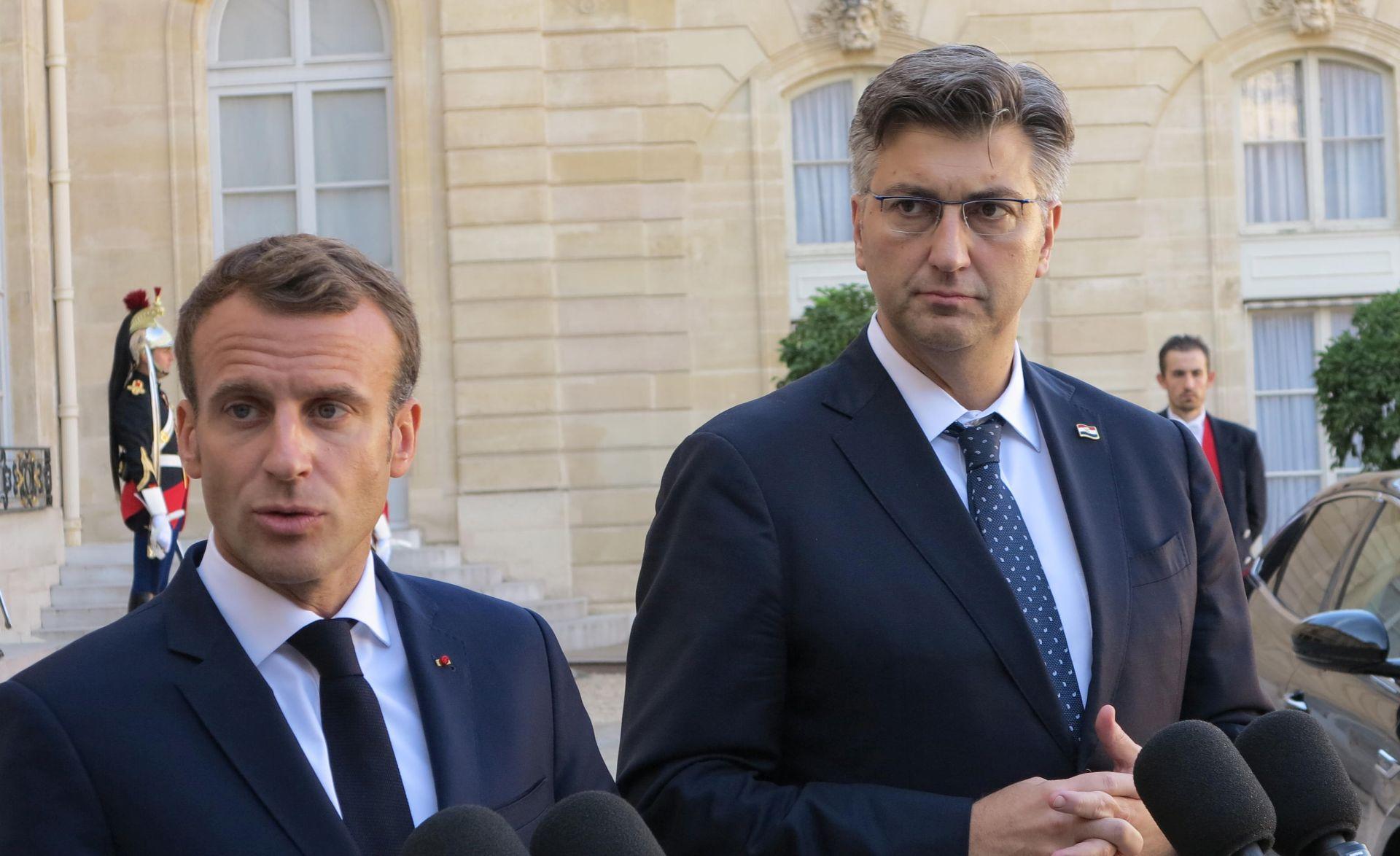 Macron najavio da će 2019. posjetiti Hrvatsku
