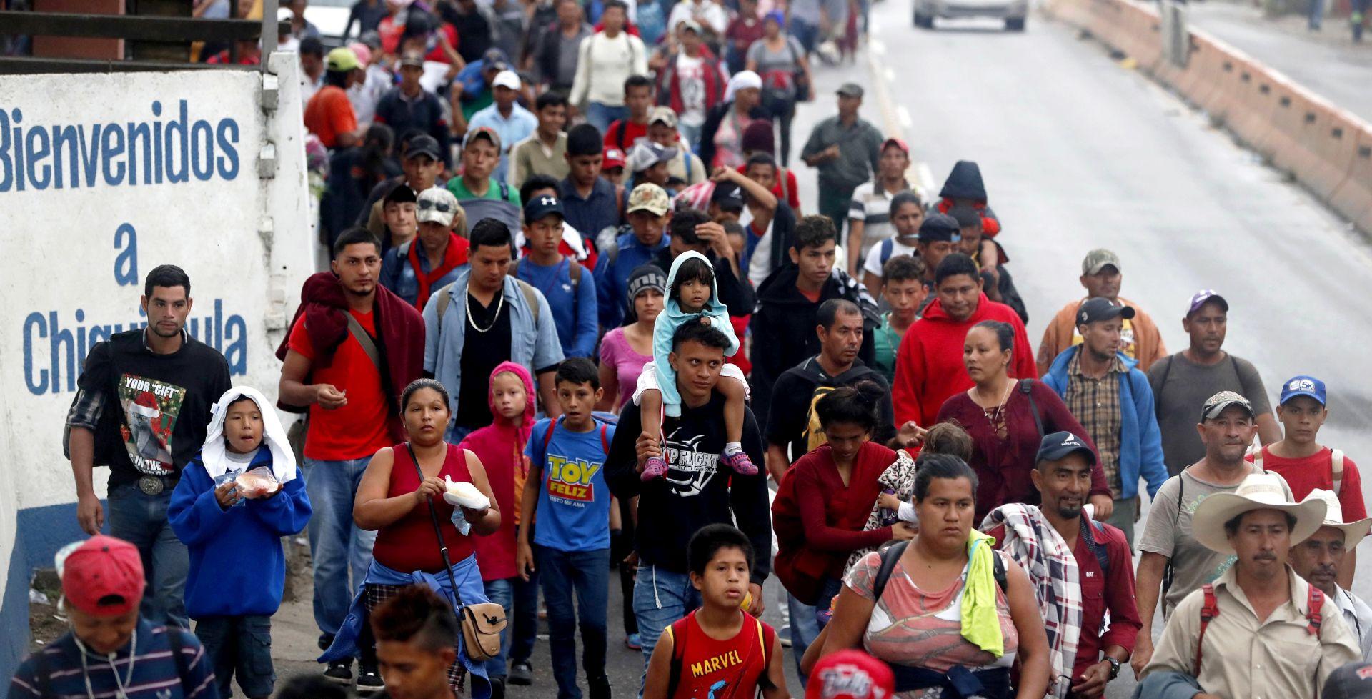 Druga migrantska karavana u Gvatemali uputila se prema Meksiku