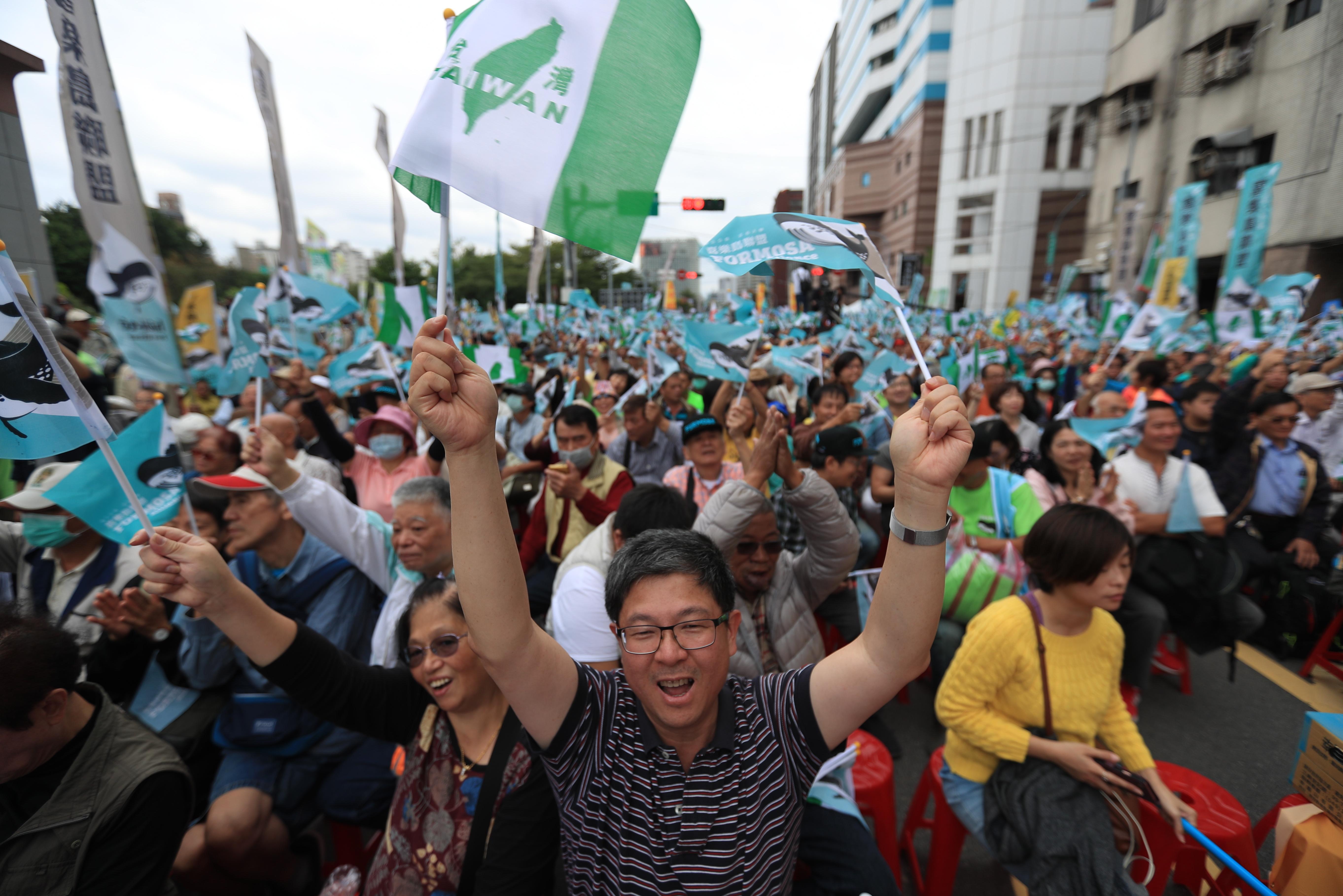 TAJVAN Prosvjedi za neovisnost od Kine