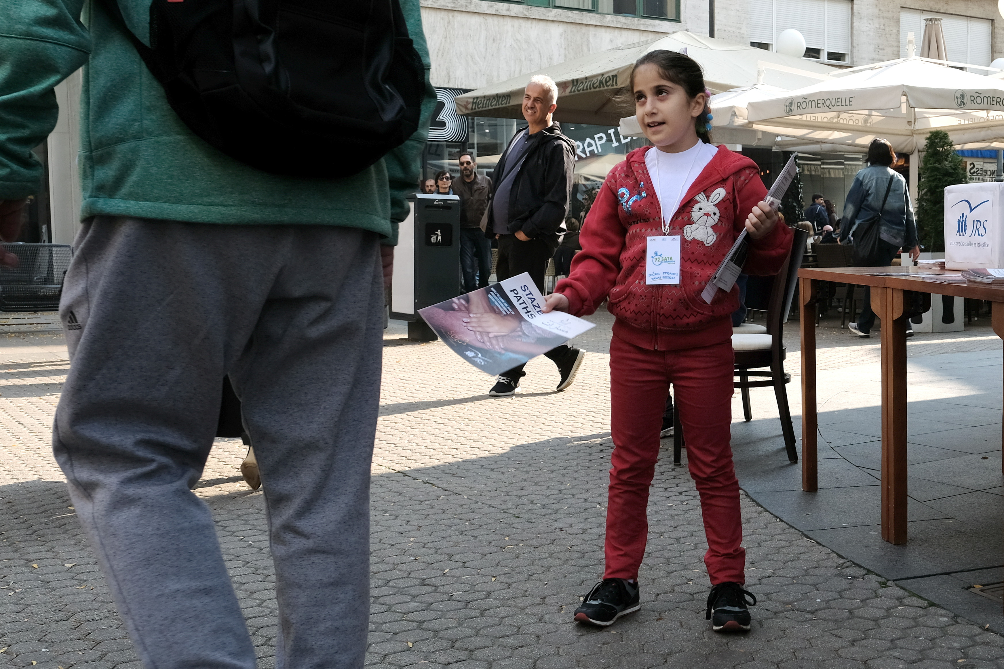 ZAGREB Isusovci organizirali druženje građana s izbjeglicama