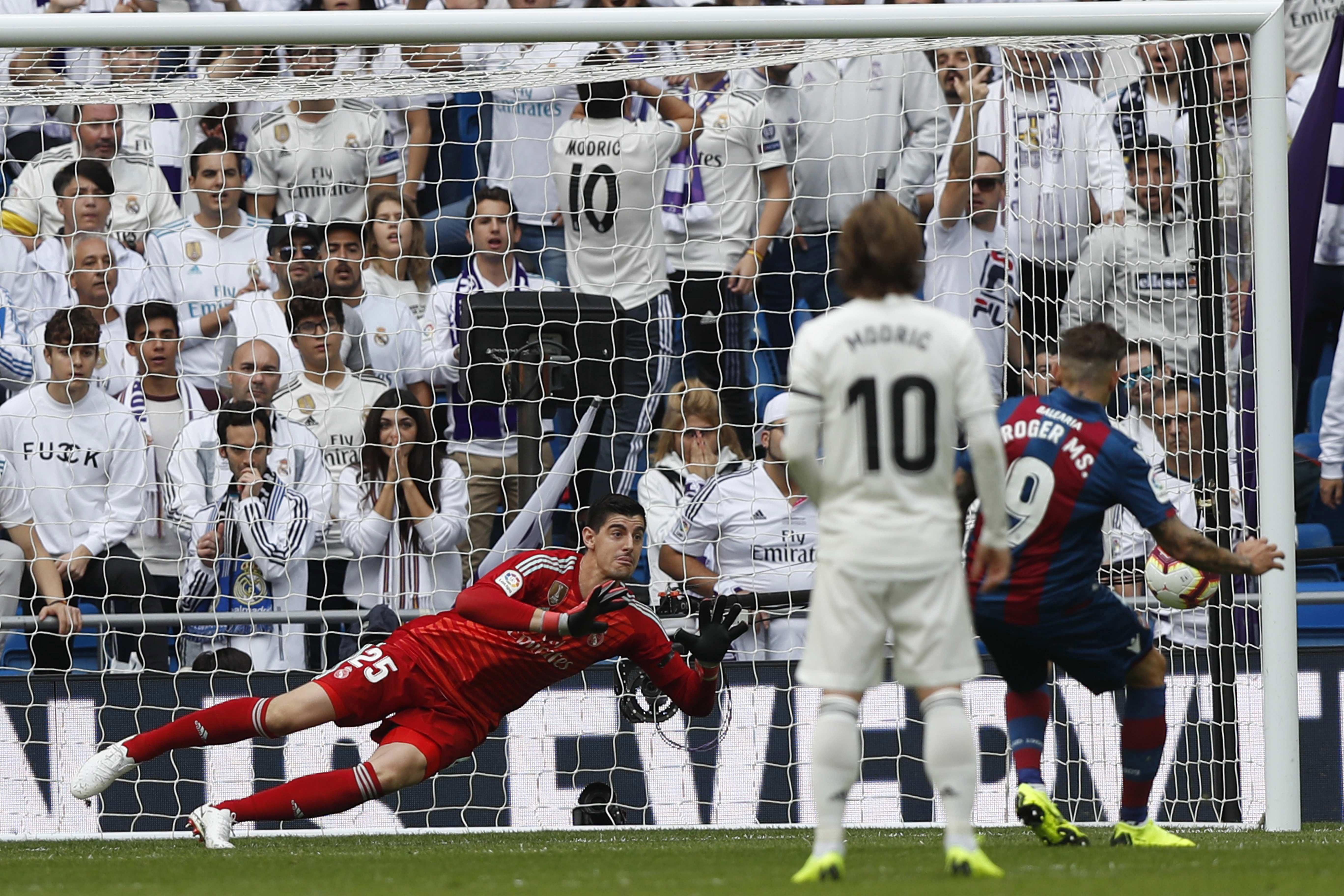 Najneefikasniji Real ikad izgubio doma od Levantea