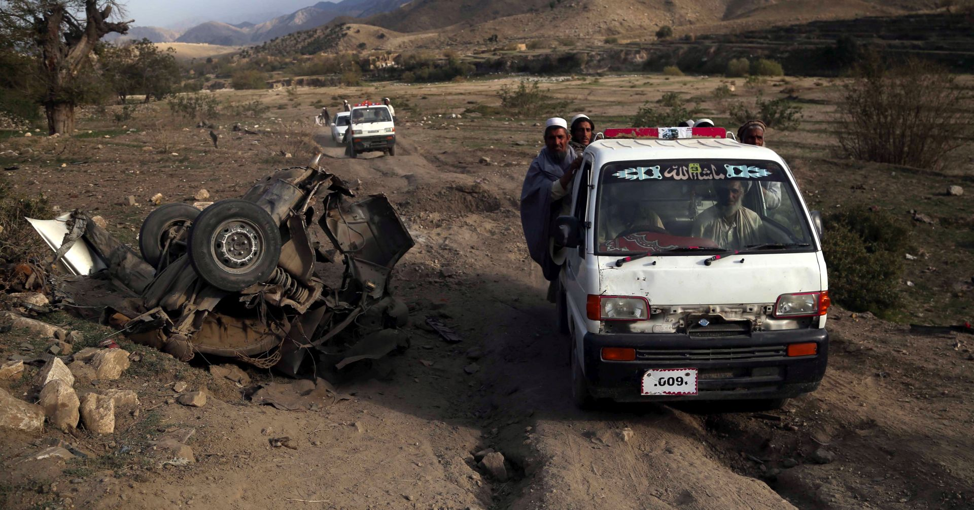 Srušio se helikopter afganistanske vojske, 25 mrtvih