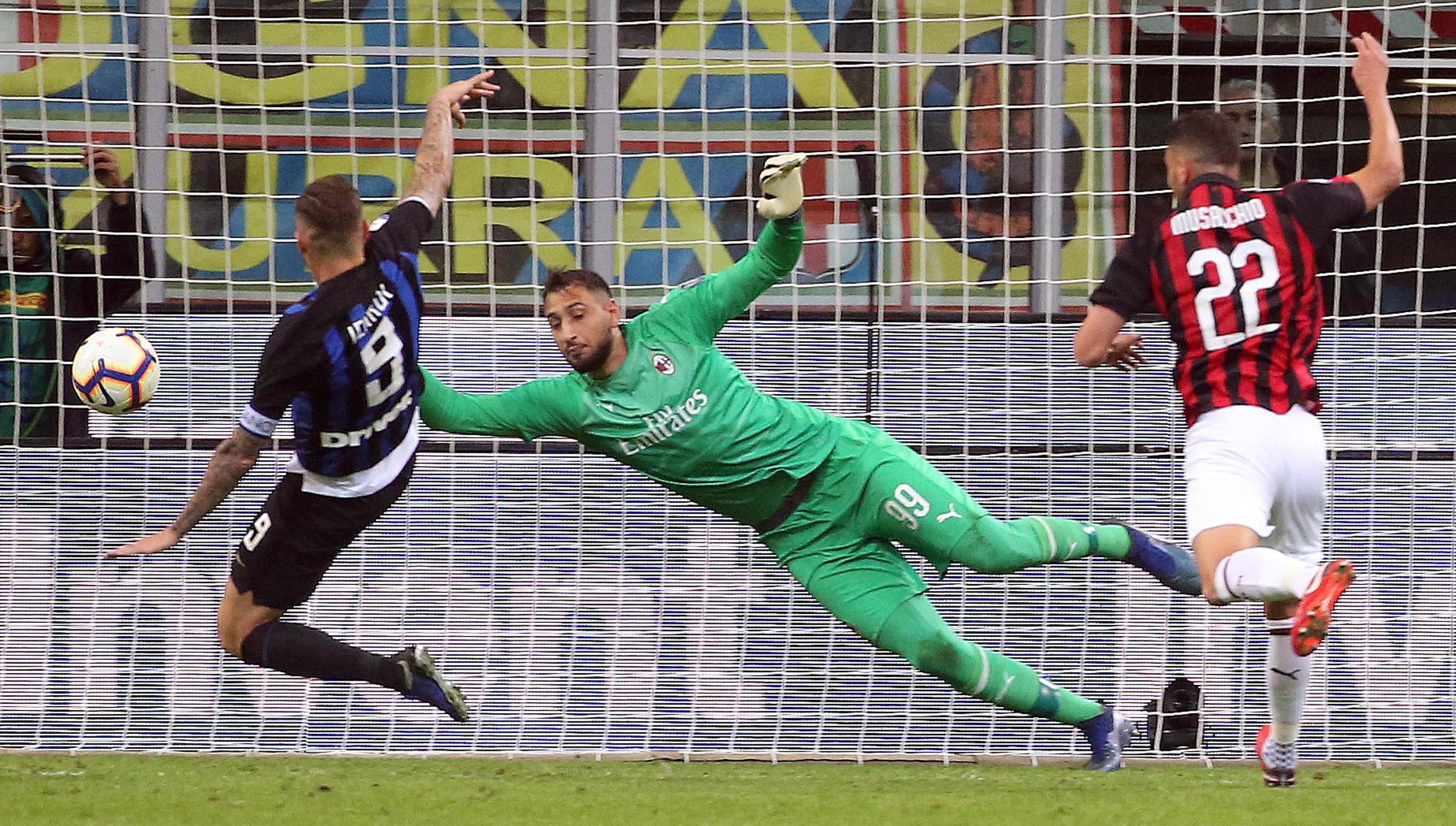 Inter slavio protiv Milana u milanskom derbiju