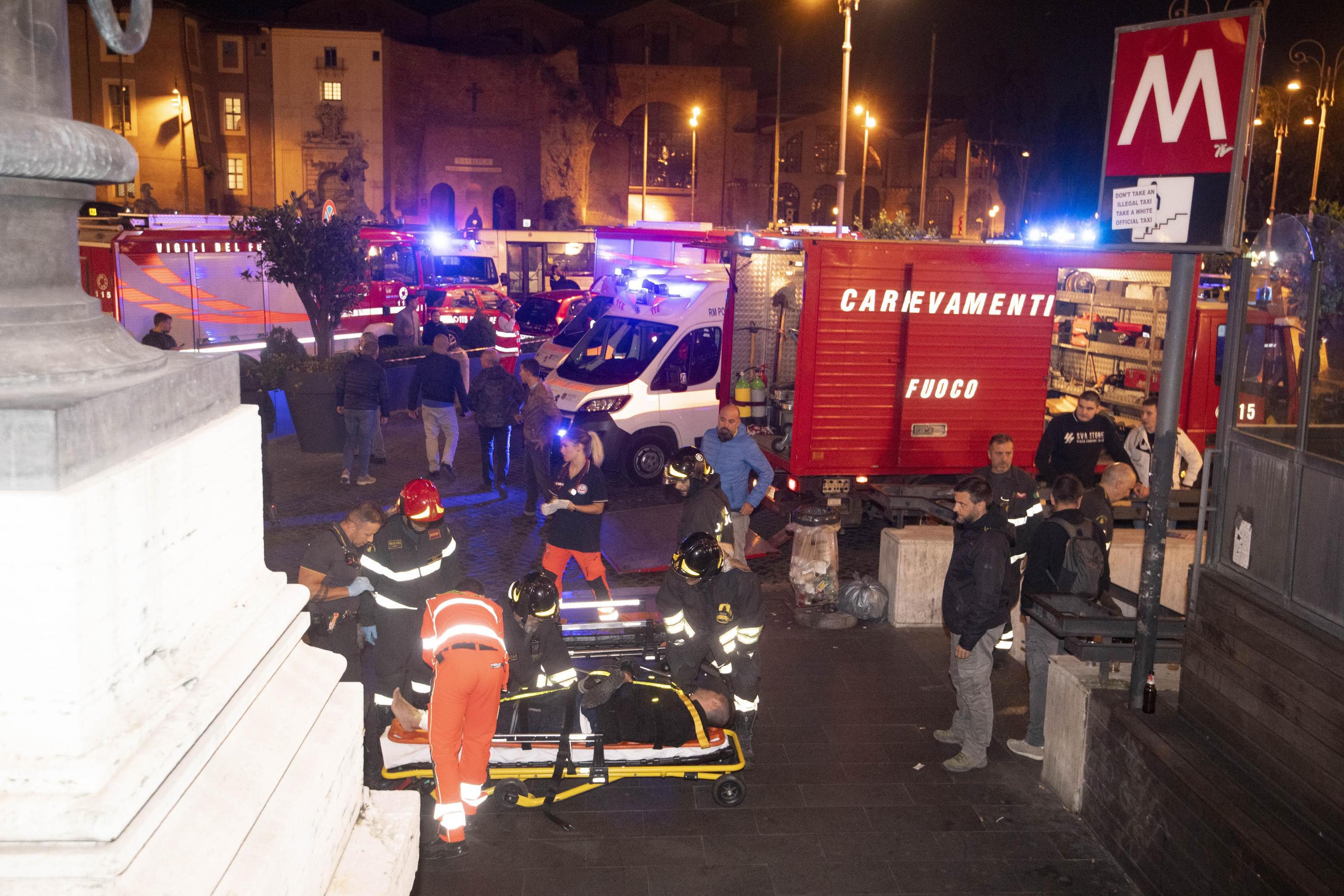 RIM Više ljudi ozlijeđeno u nesreći s pokretnim stepenicama u metrou