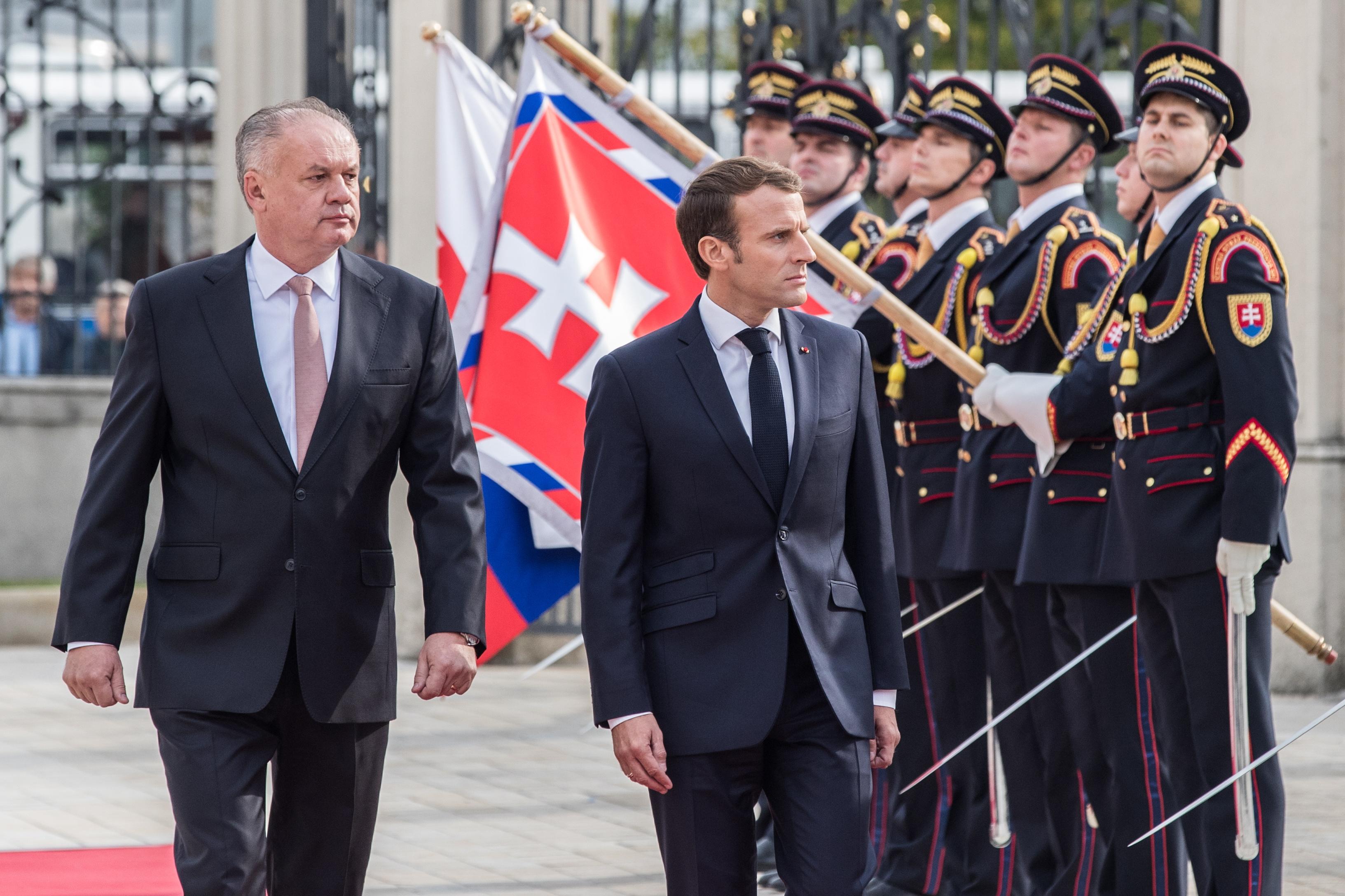 """Macron optužio mađarskog i poljskog kolegu da """"lažu svom narodu"""""""