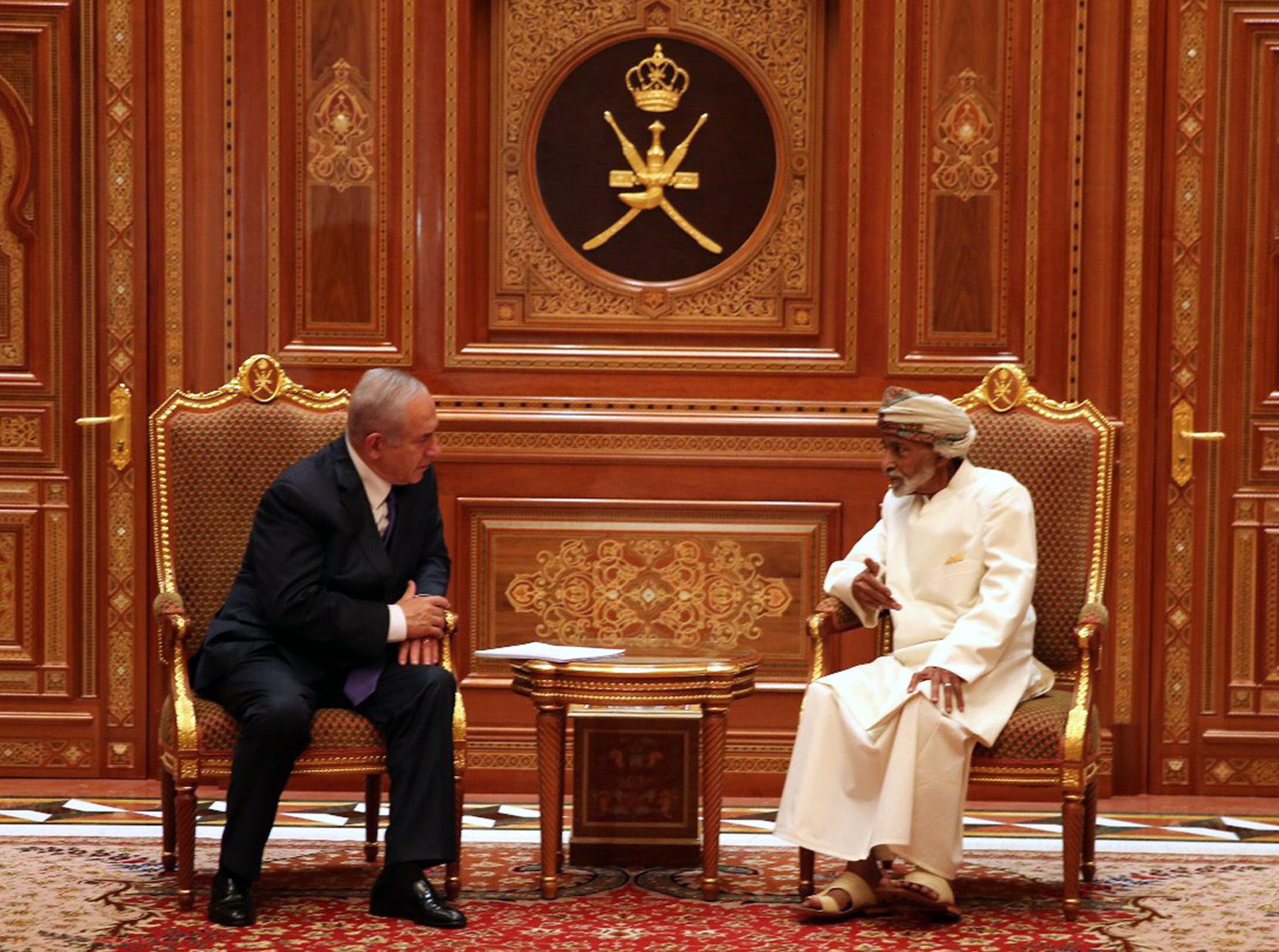 Netanyahu prvi izraelski premijer u posljednjih 20 godina u posjetu Omanu
