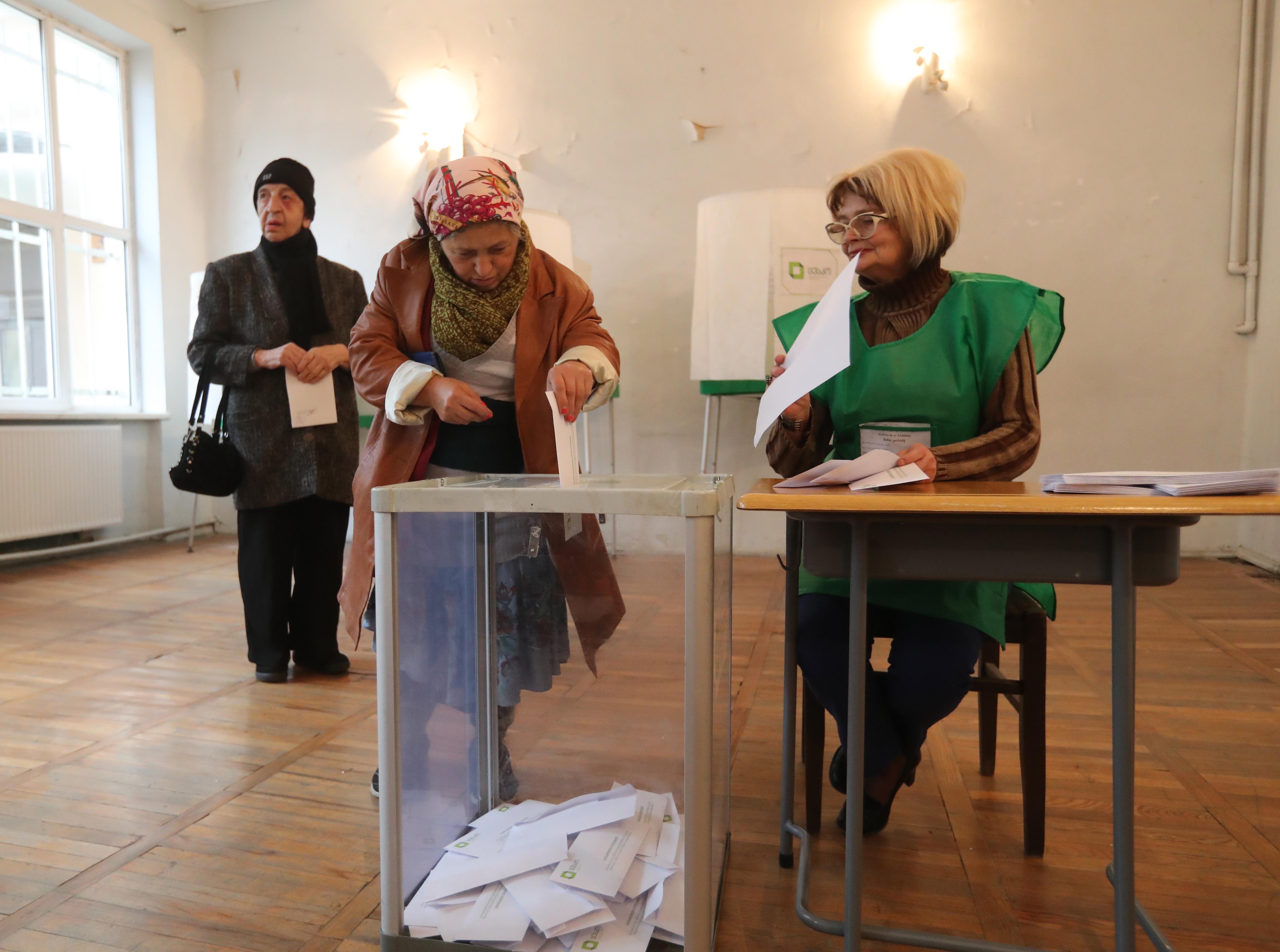 Prvi rezultati izbora u Gruziji sugeriraju drugi krug