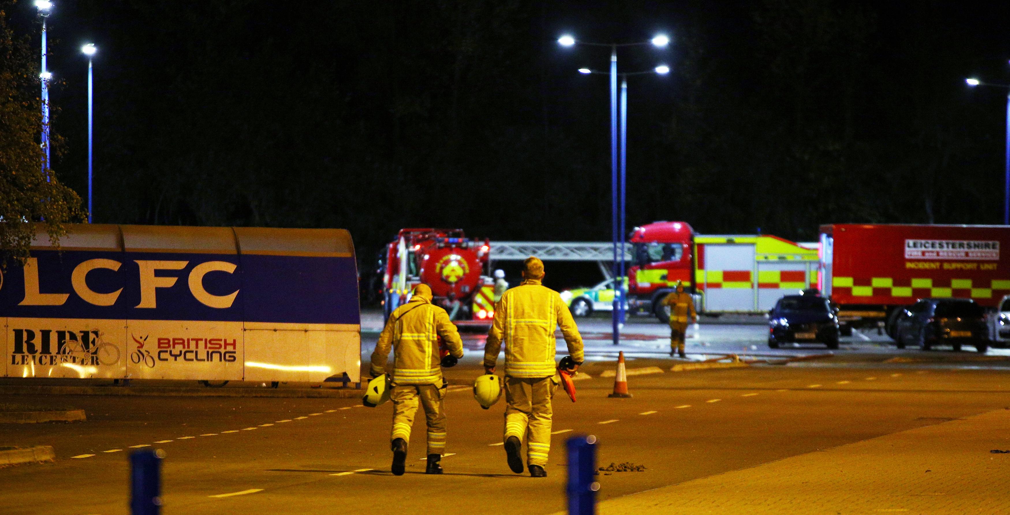 Vlasnik Leicester Cityja i još četiri osobe bili su u helikopteru koji se srušio