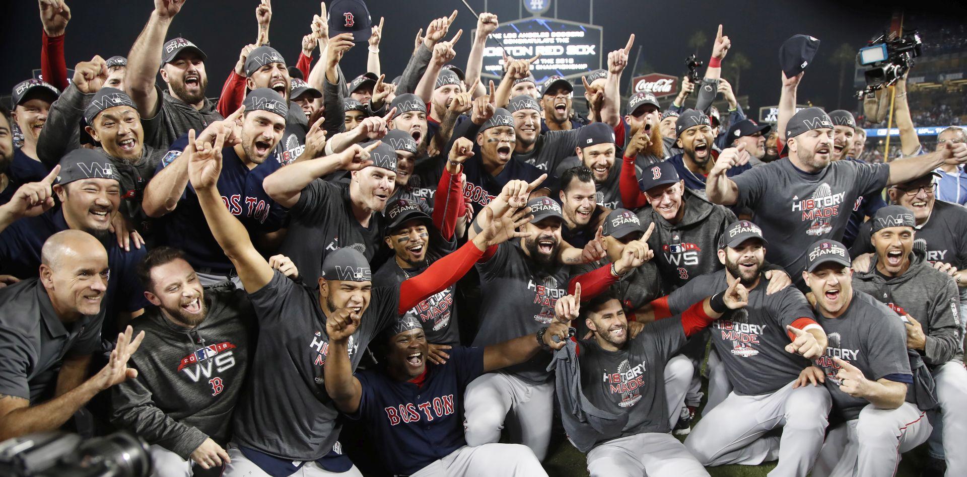 MLB Boston Red Soxi osvojili deveti naslov