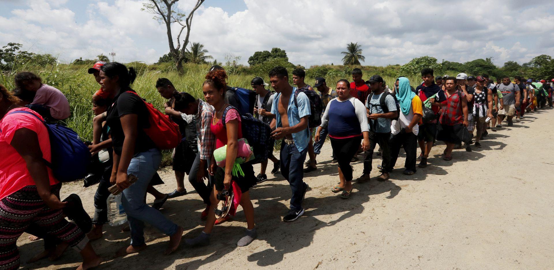 Jedan dan u karavani migranata