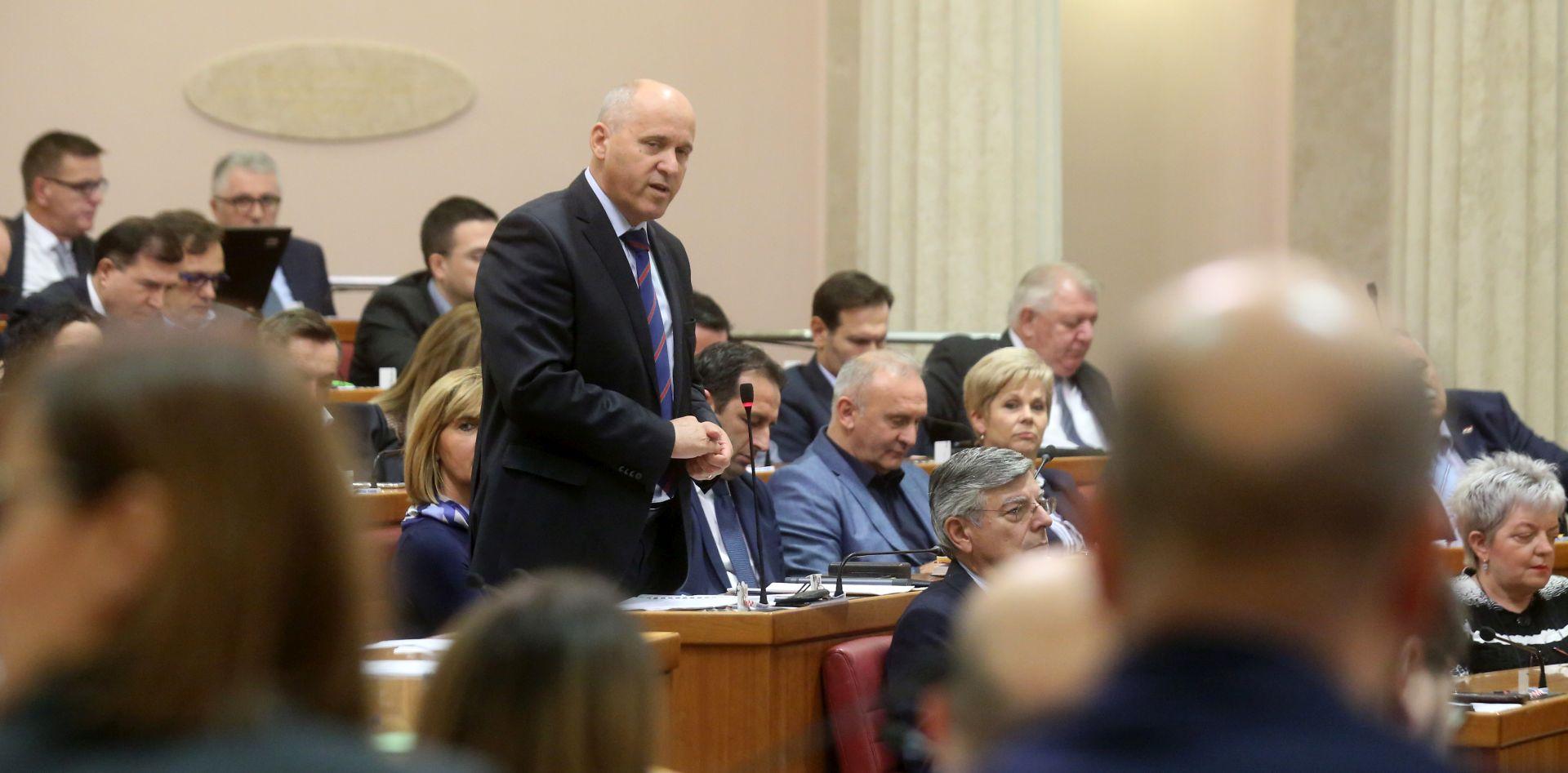 Sabor odbio osnivanje istražnog povjerenstva za Agrokor